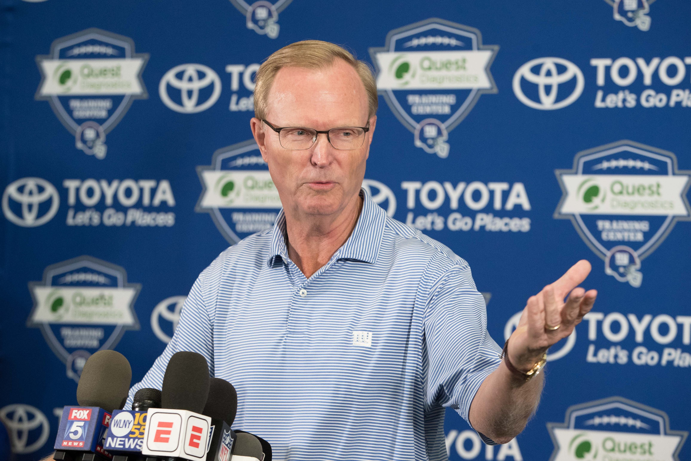 Quarterback situation has a familiar feel for Giants boss John Mara