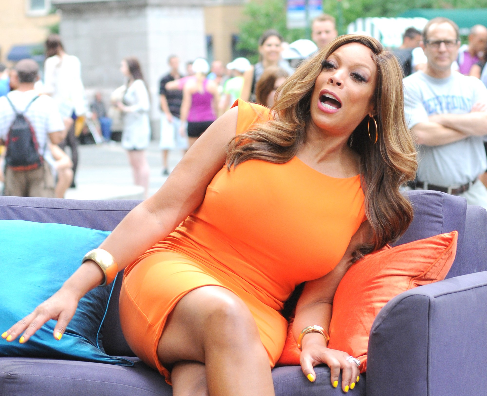 Wendy Williams Getting Dragged For Making Fun Of Drew Carey's Ex-Girlfriend's Death