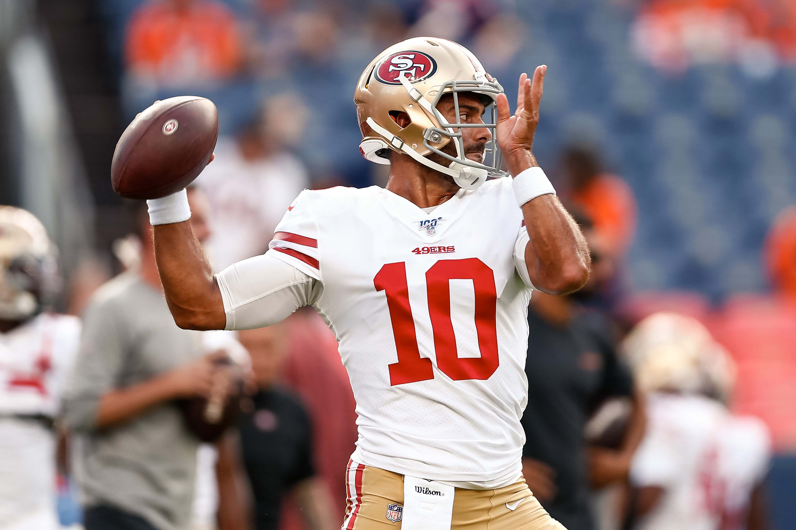 new product 277c9 fd055 Jimmy Garoppolo | Bleacher Report | Latest News, Videos and ...