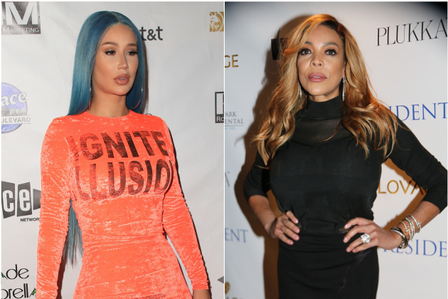 "Iggy Azalea Refers To Wendy Williams As A ""Crackhead"" For Commenting On Her ""Fake Body"""