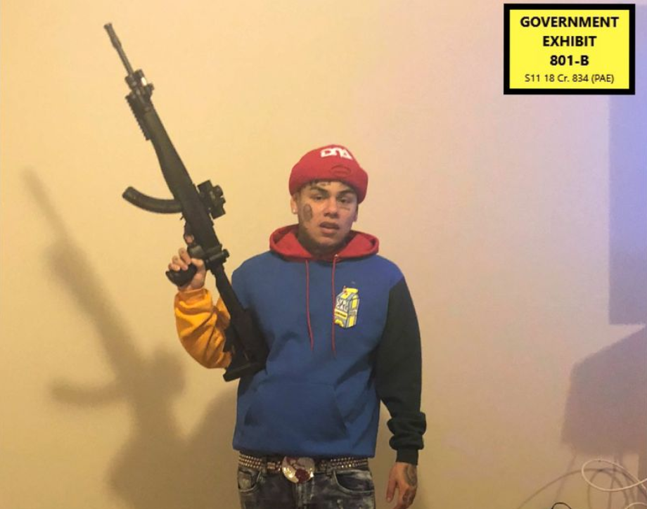 EXCLUSIVE: Tekashi 6ix9ine Associate Who Helped In Rap-A-Lot Robbery Facing 8 Years In Prison
