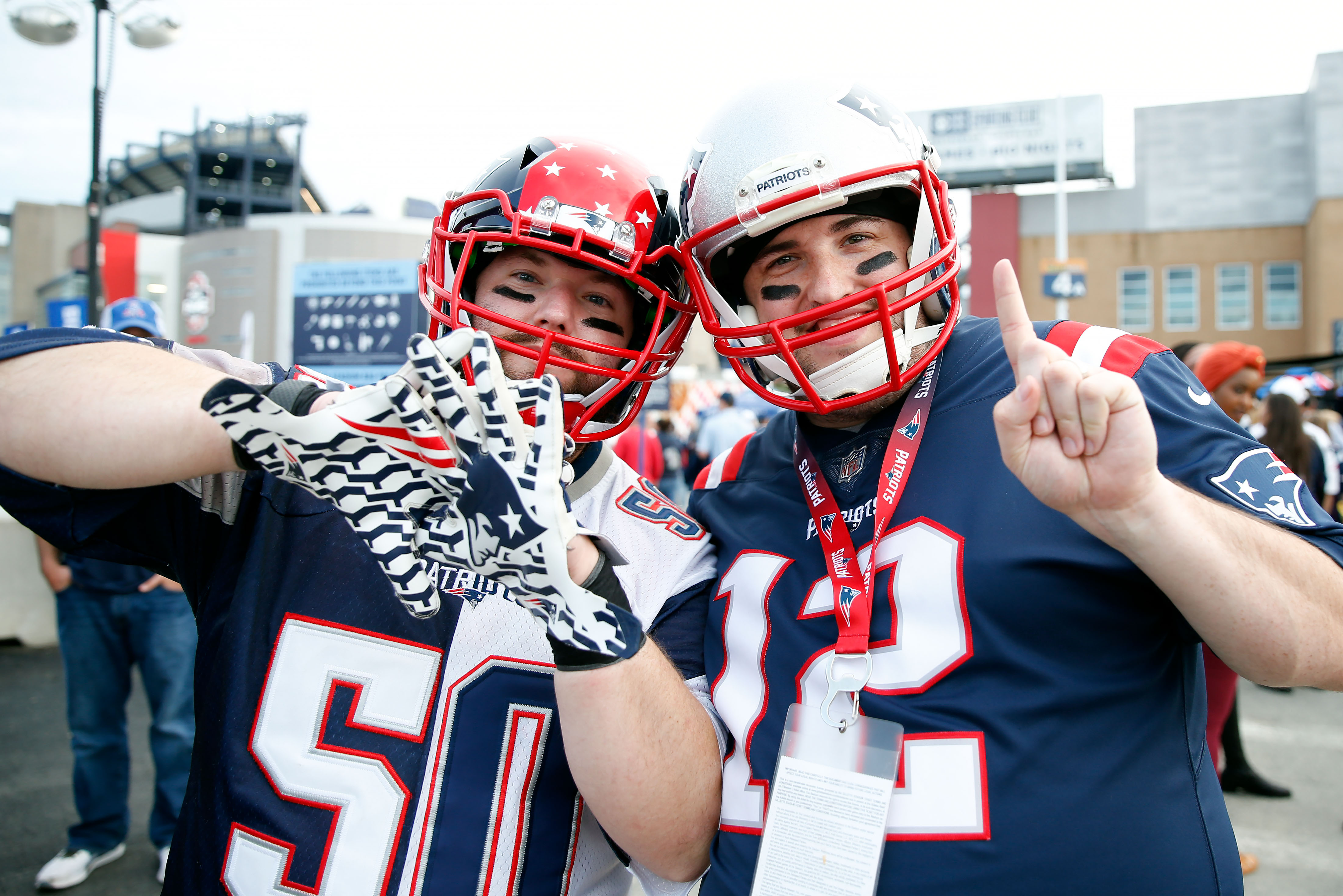 Patriots fans are gushing over 90s royal blue jerseys for sale in team's pro shop