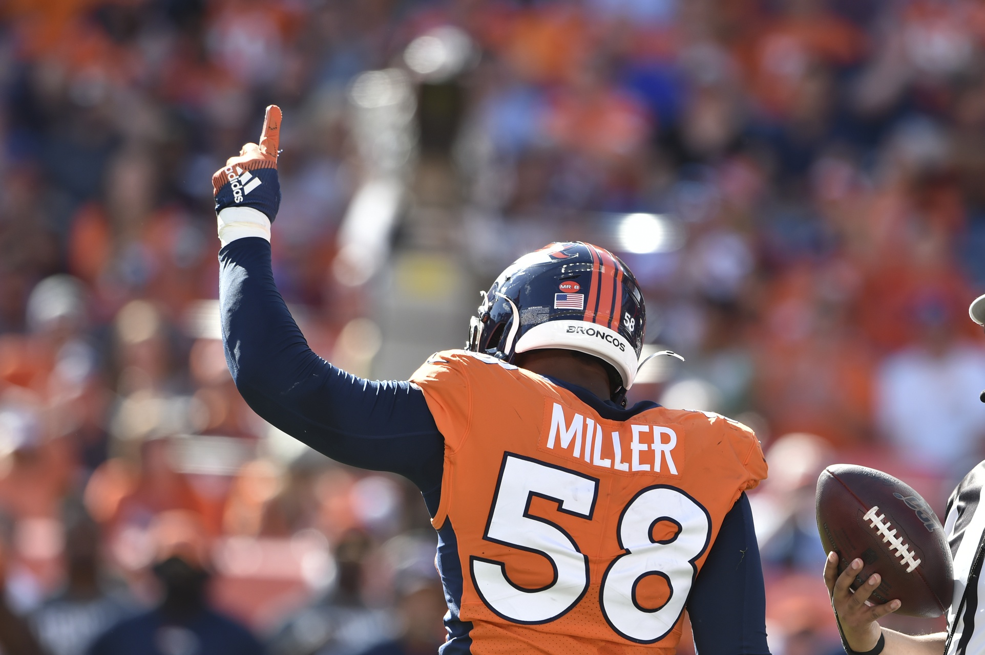 Broncos' LB Von Miller Named Unanimous Selection for NFL's All-Decade Team of 2010s