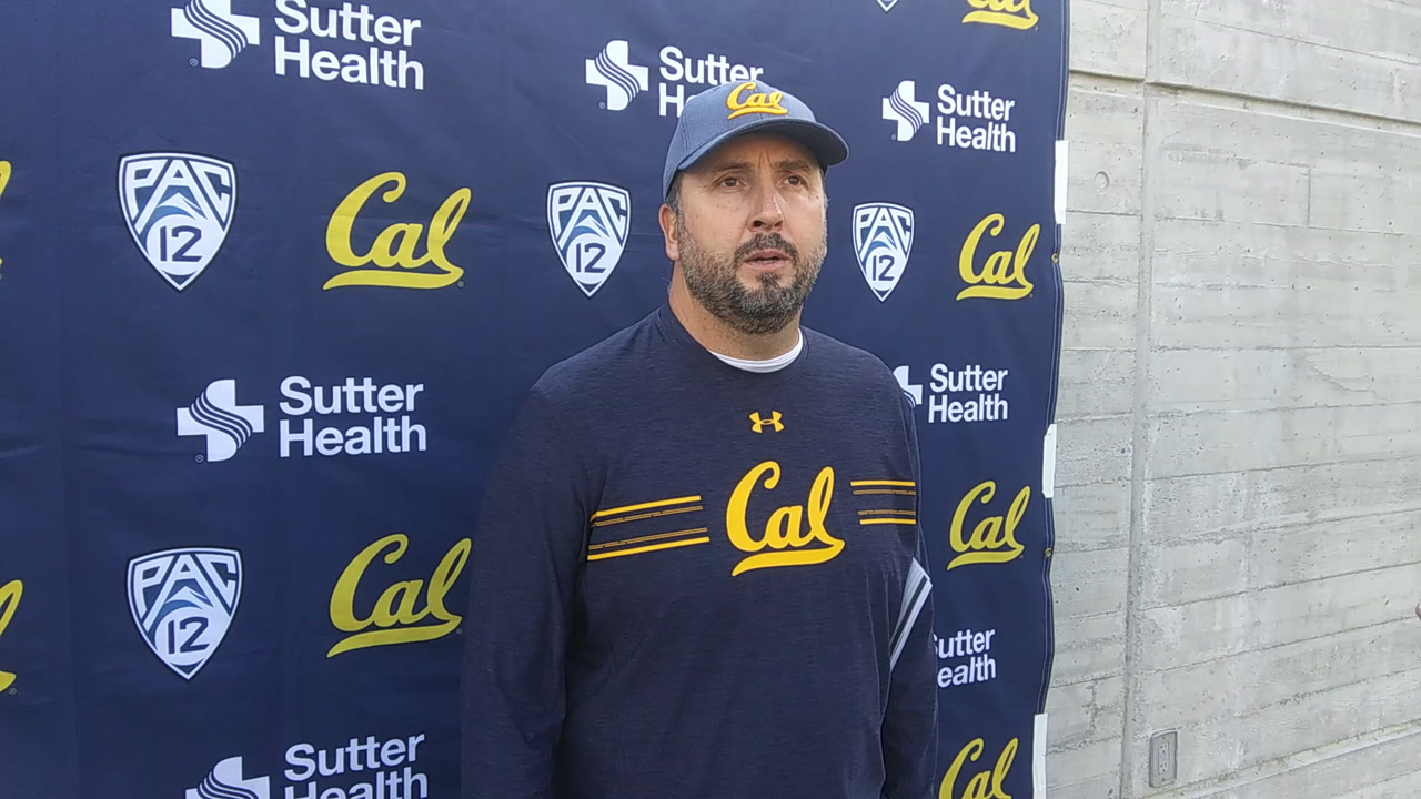 Cal Football Video: Offensive Coordinator Assesses Bears' Offense at Halfway Point