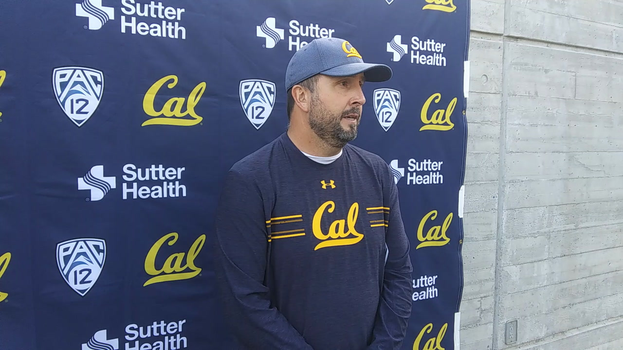 Cal Football Video: Bears' Offensive Coordinator on Devon Modster - 'Tough as Nails'