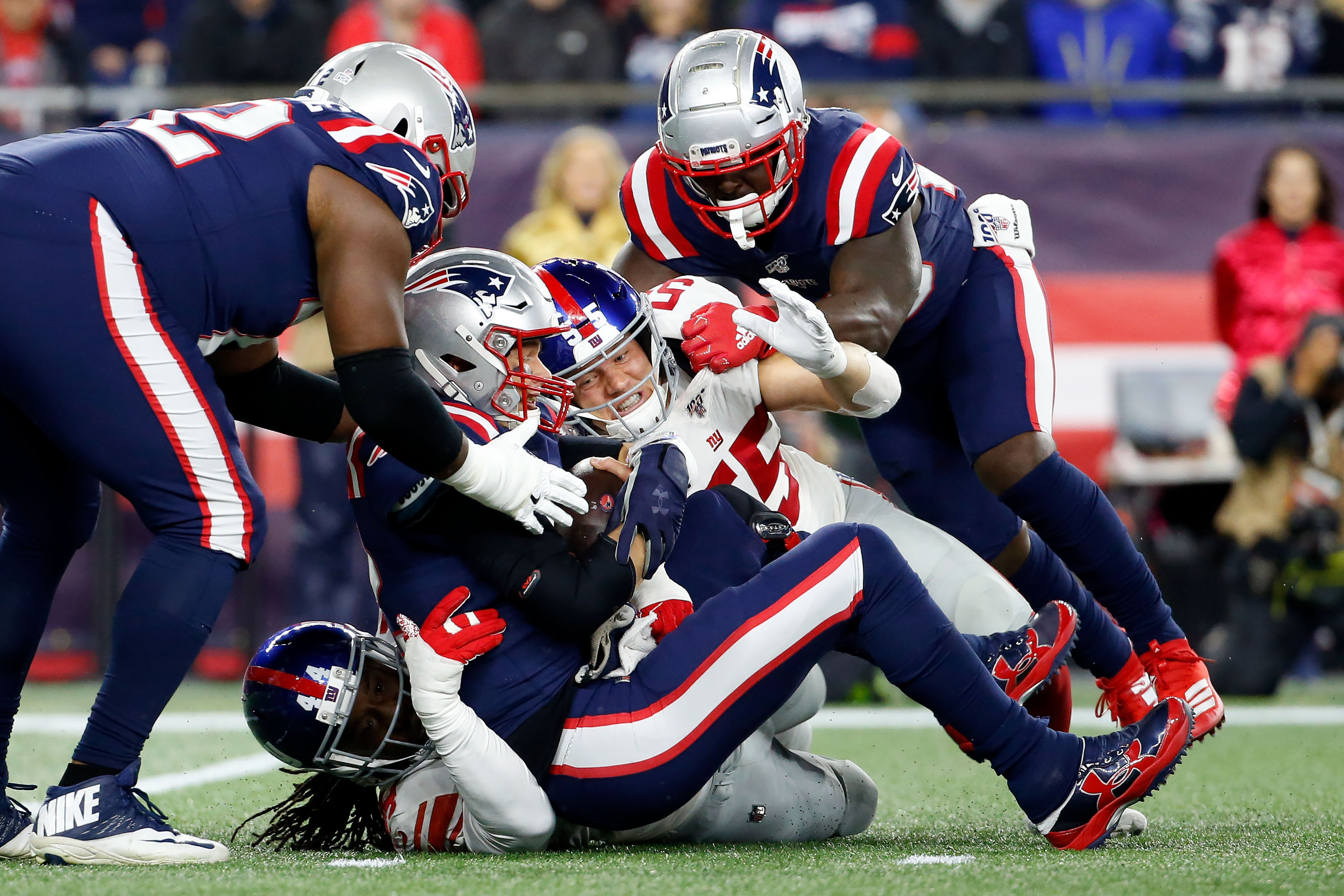 Instant Observations Following Patriots' 35-14 Win over Giants
