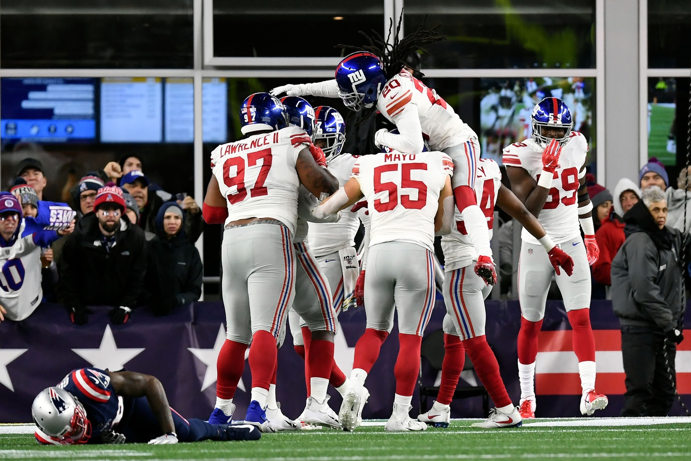 Takeaways from the Giants' 35-14 Loss to the Patriots