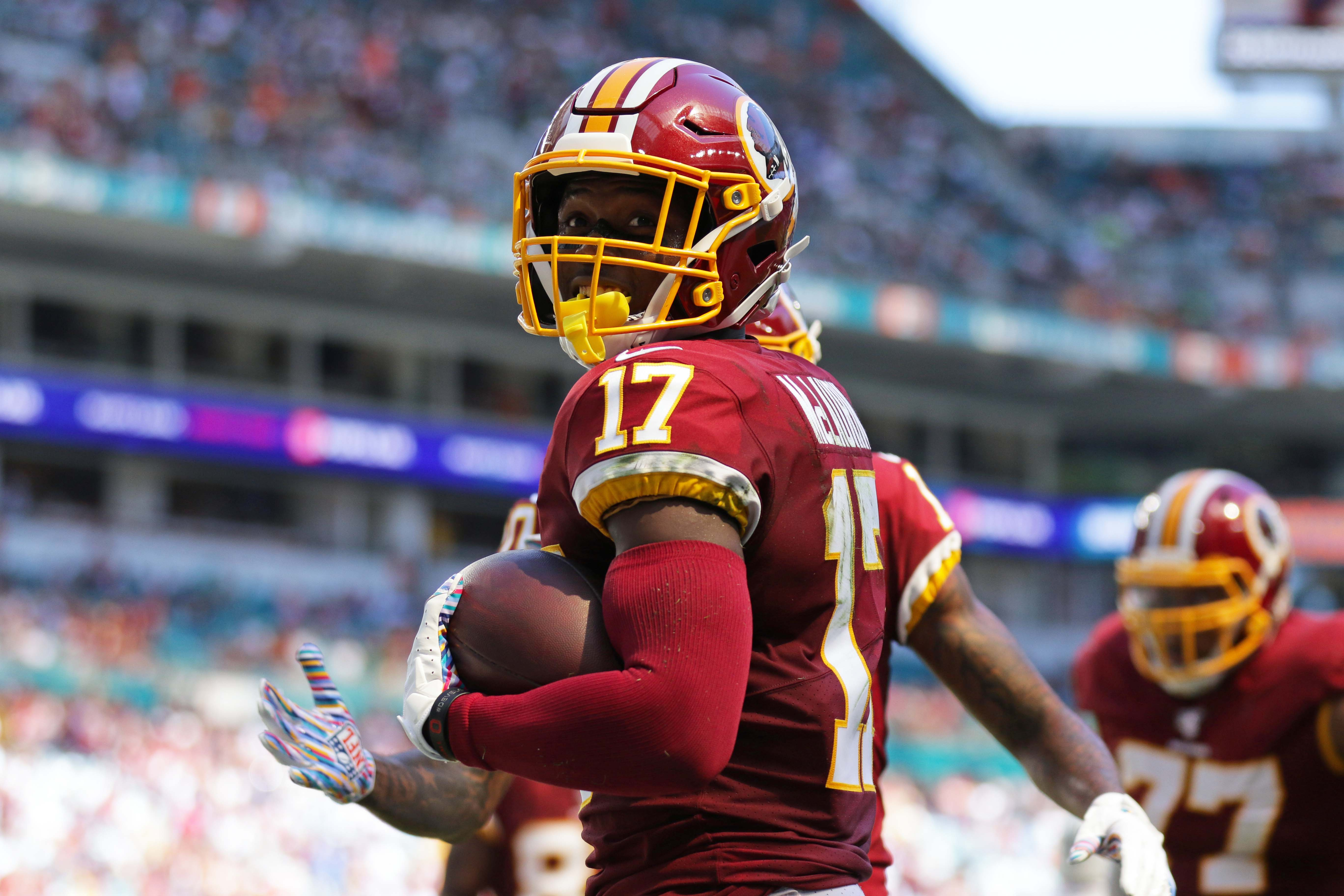 Watch: Terry McLaurin's 4th and 5th TDs, ensuing Kodak Black celebration