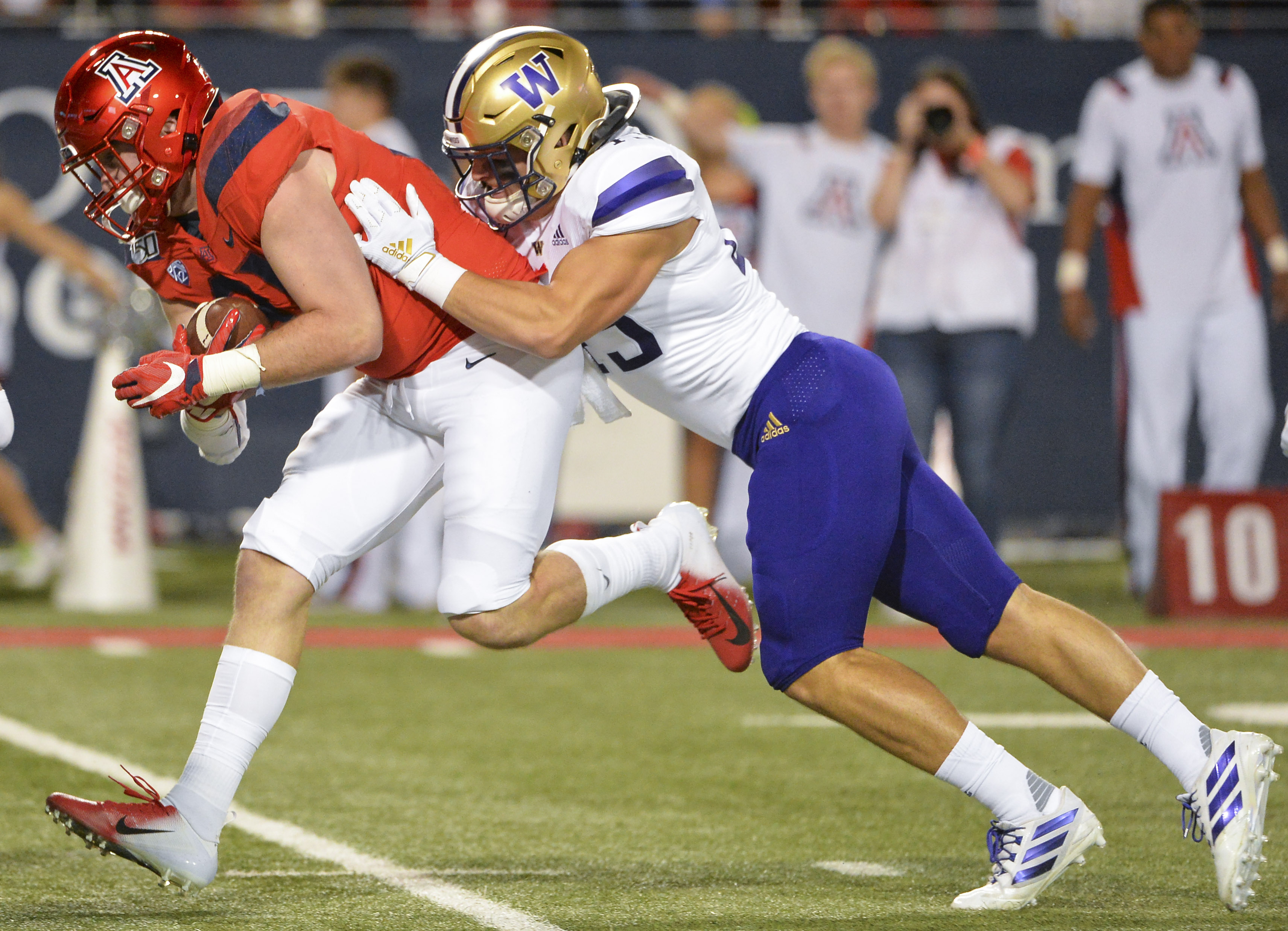 Arizona could not overcome Husky defense and miscues in 51-27 loss to Washington