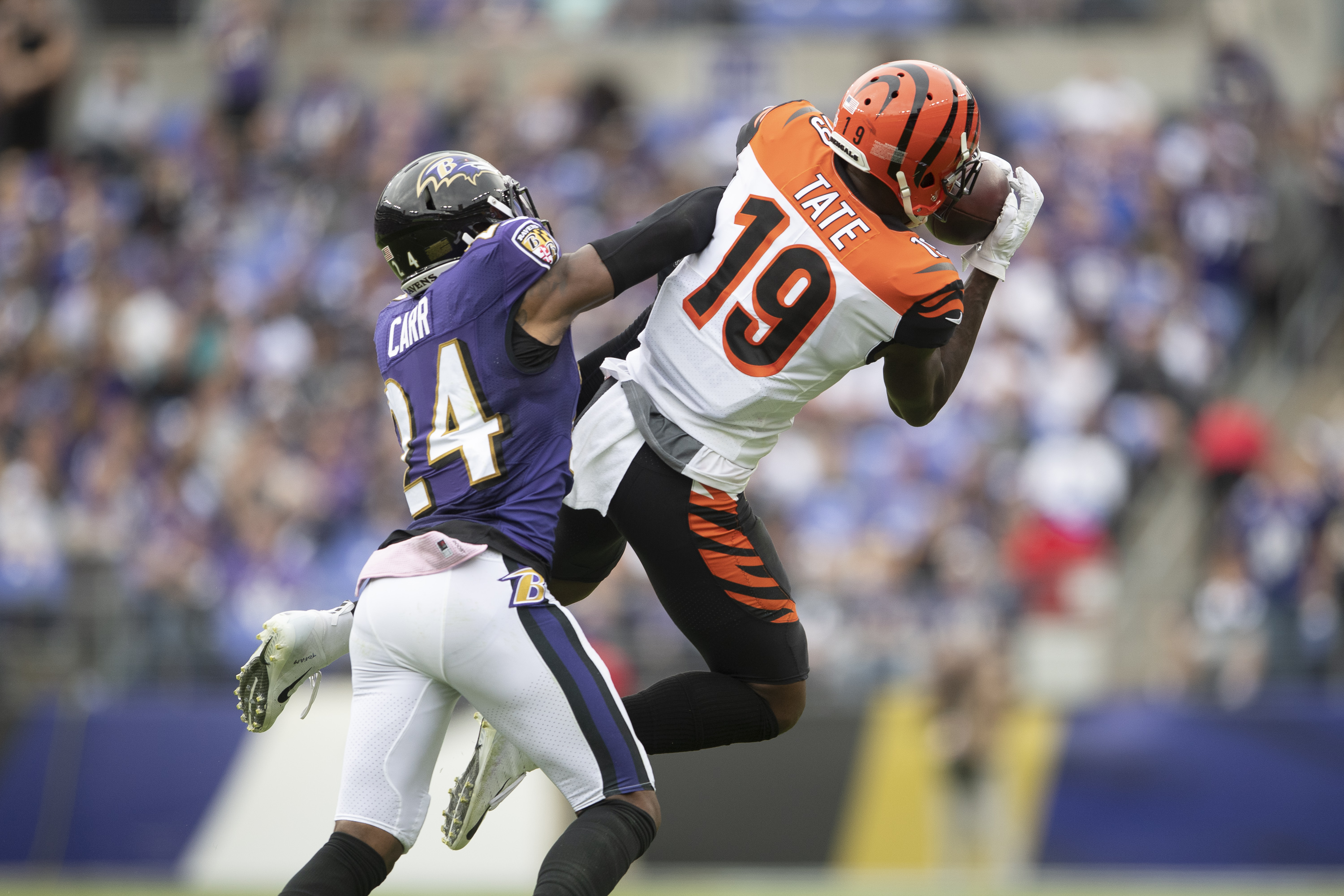 Bengals lose to Ravens, fall to 0-6 on the Season
