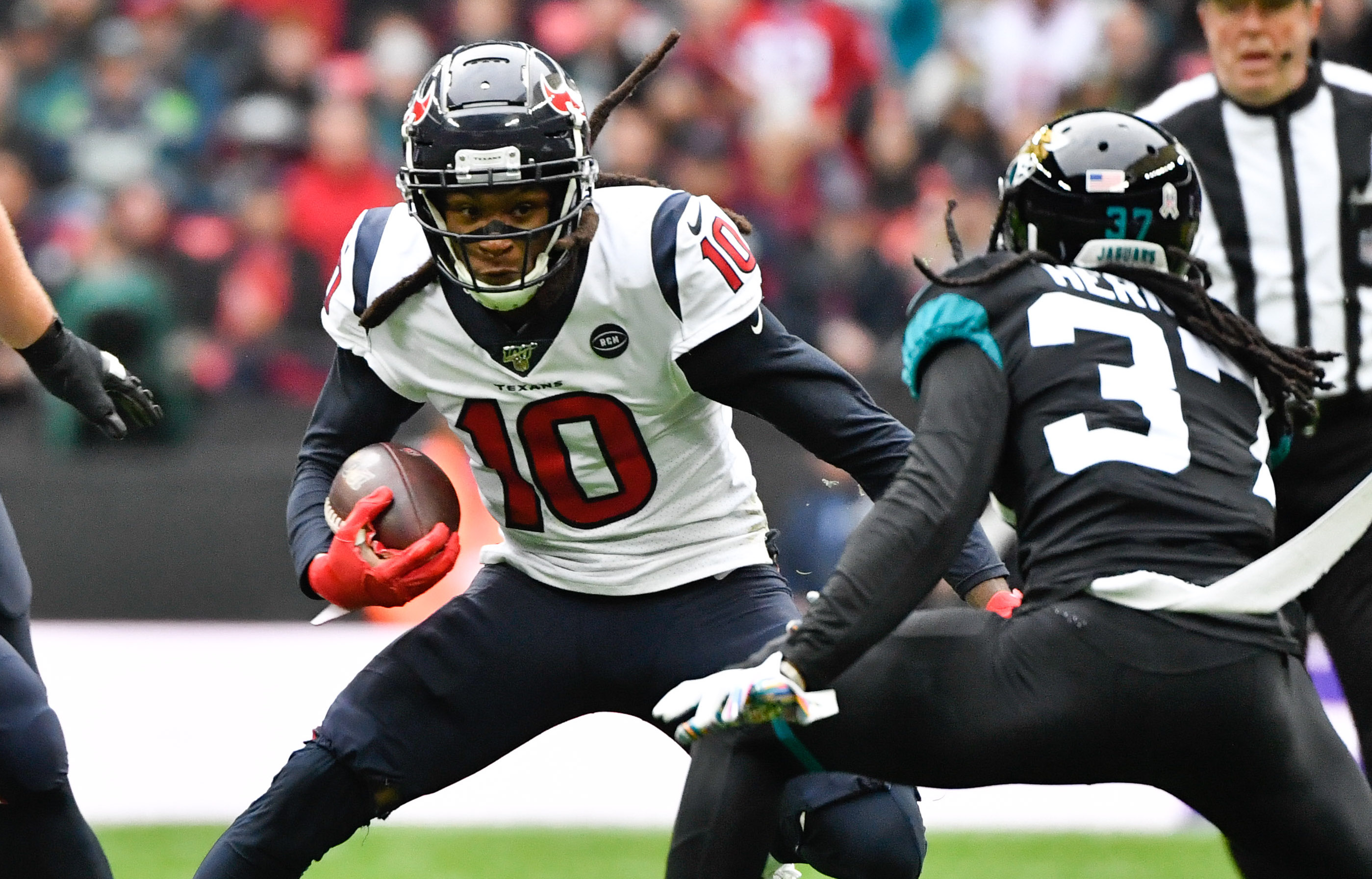 DeAndre Hopkins Appreciates the Texans Business Like Approach in Their Win Over The Jaguars