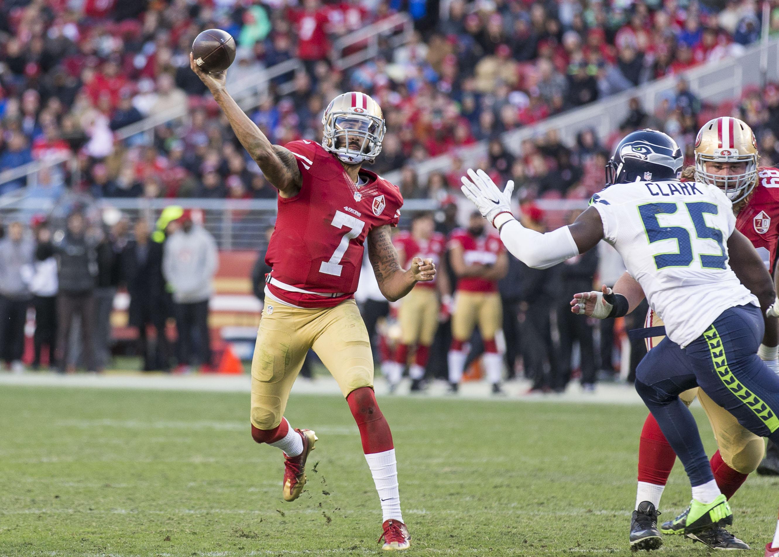 Colin Kaepernick Could Help Patriots Prepare for Dual-Threat QBs