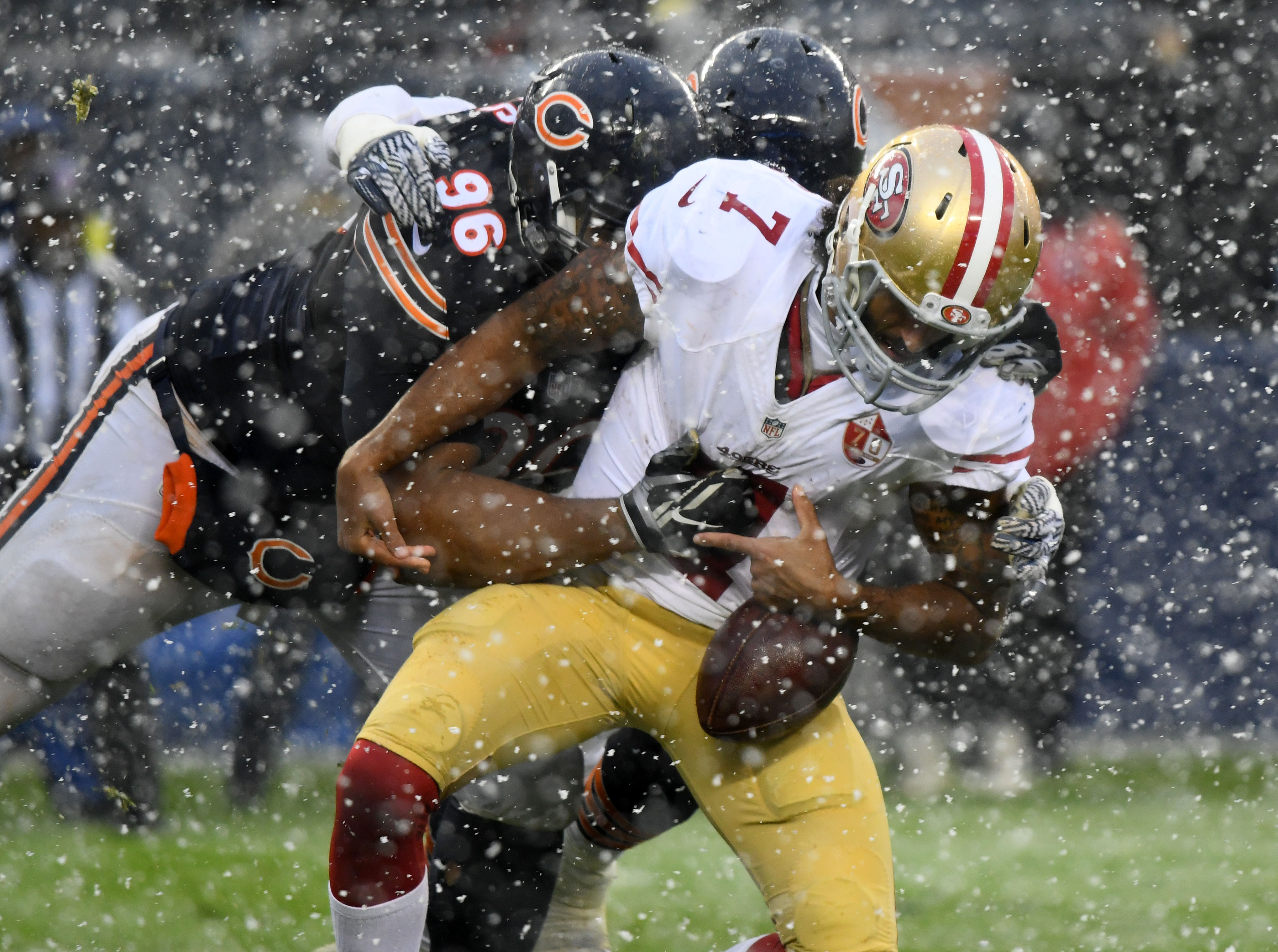 No Sign Bears Will Attend Colin Kapernick Workout