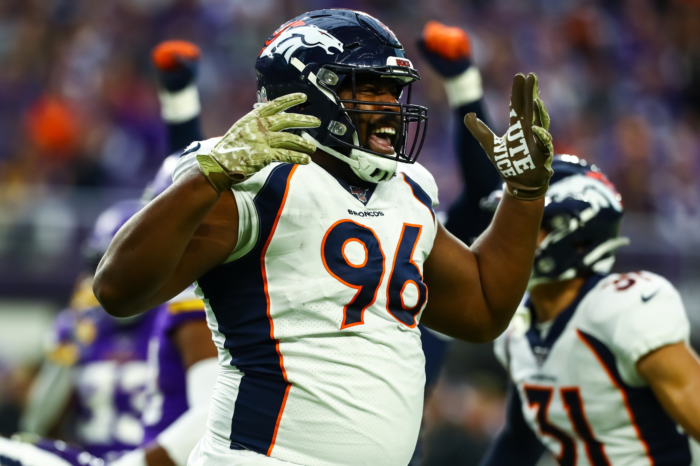 Broncos' DL Shelby Harris is Garnering Major Interest Around NFL, Could Command North of $12M