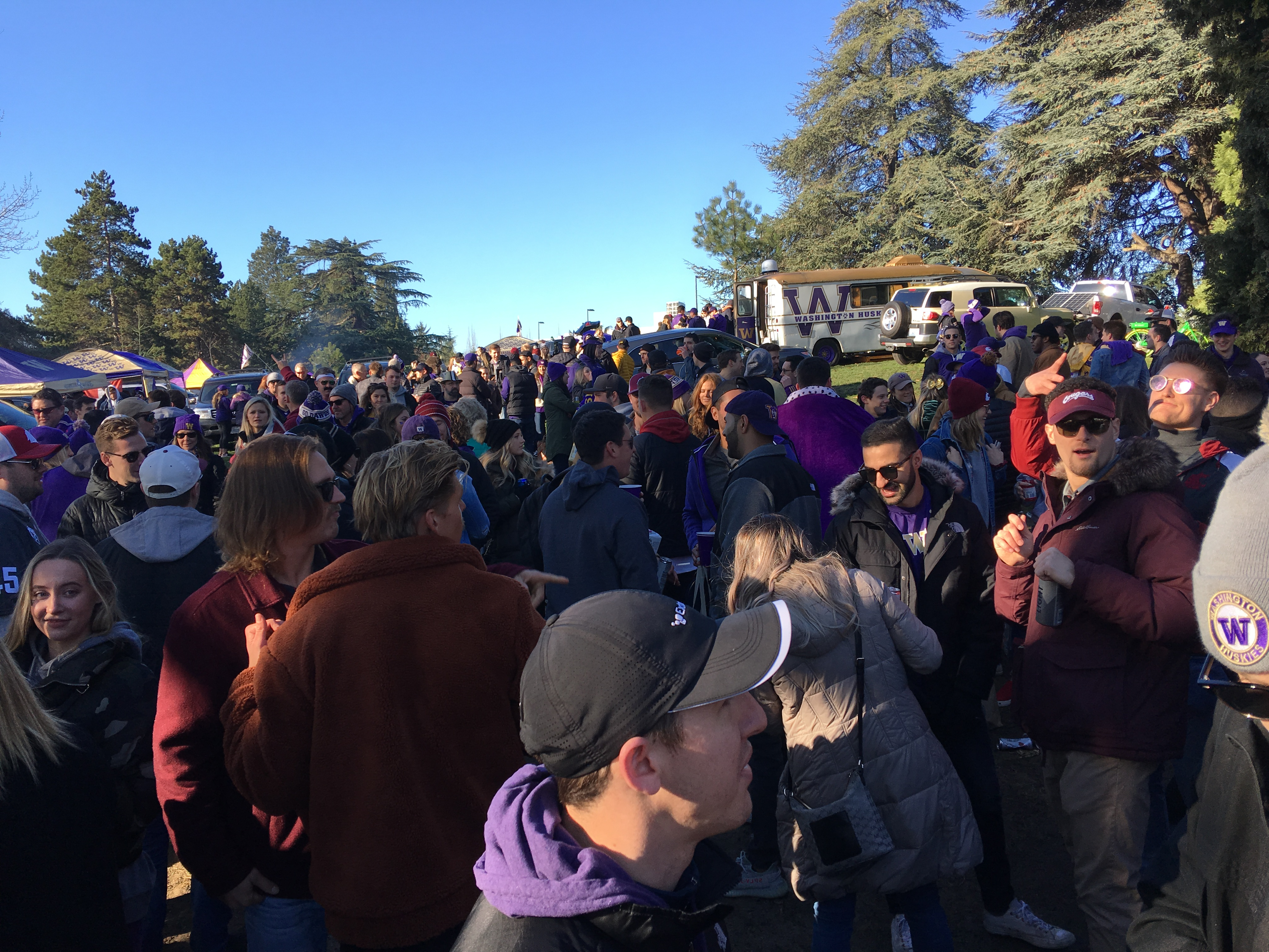 Come Together: Huskies, Cougars Fans Share the Moment
