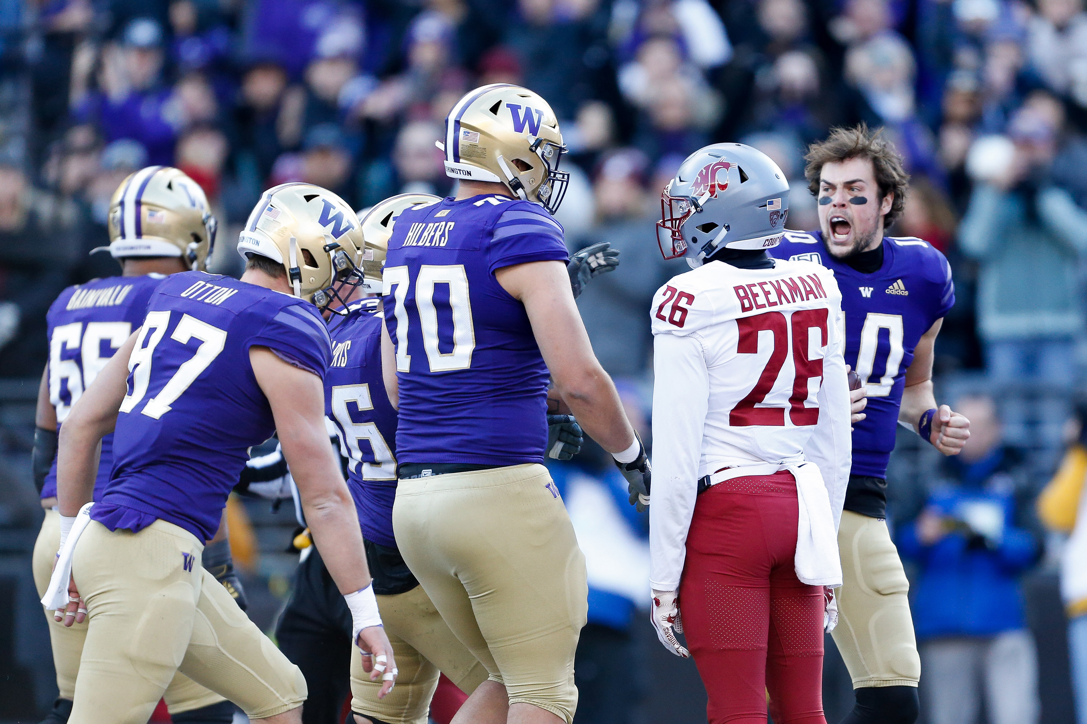 UW's Eason: 'Super Proud to be a Husky'