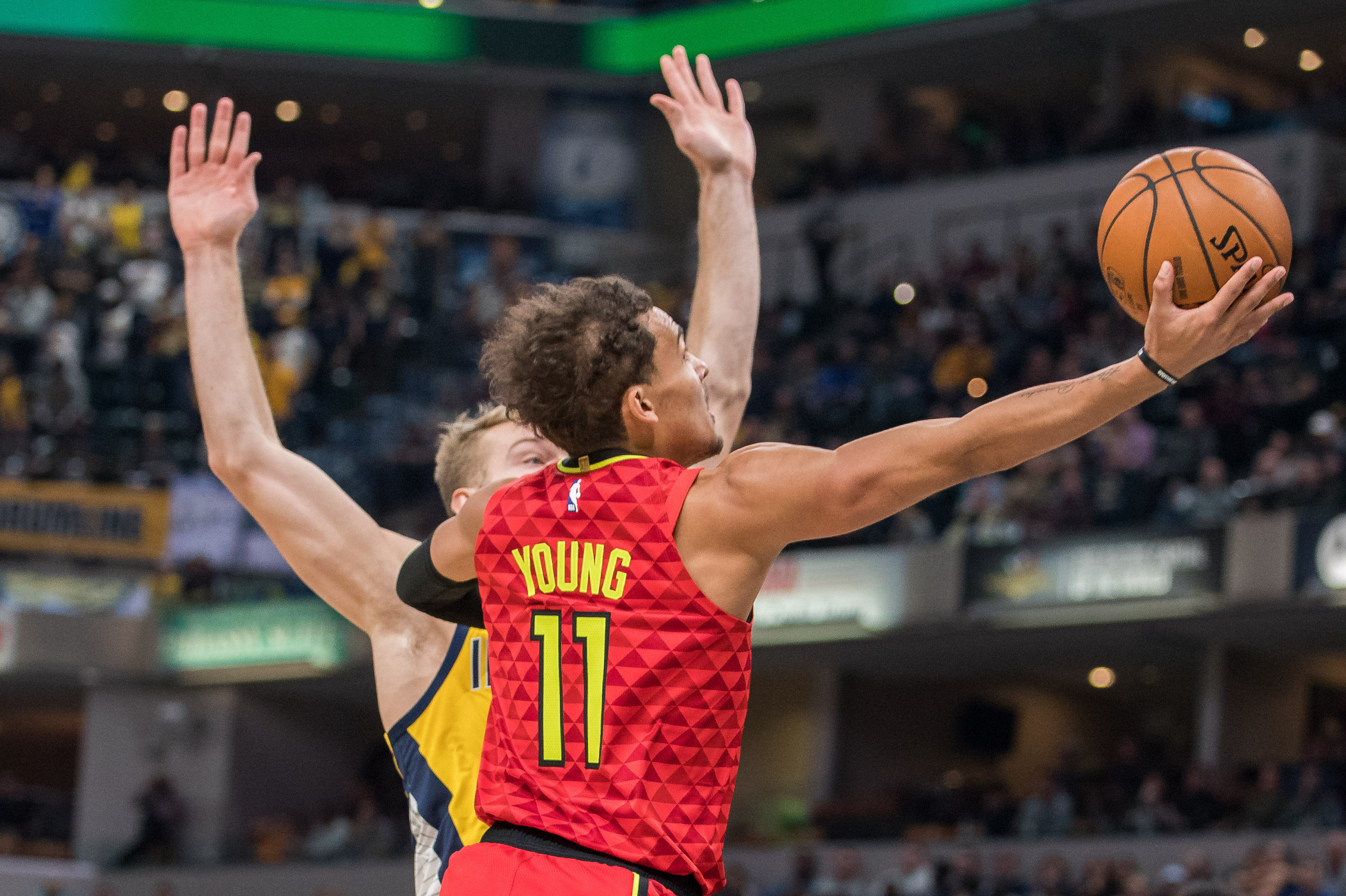 Young's 49 Not Enough As Hawks Drop Overtime Slugfest