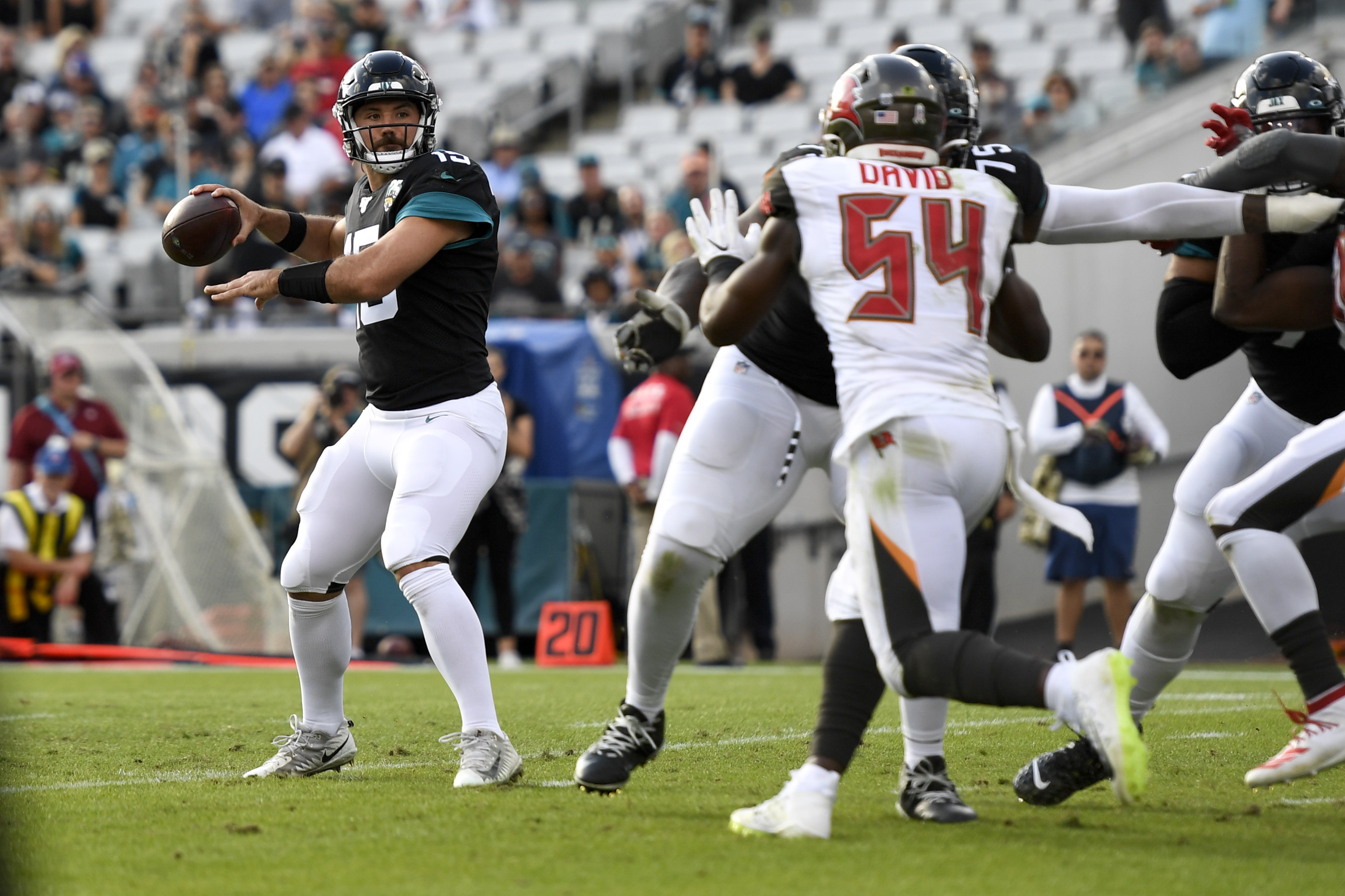 Jaguars Drop Fourth Straight in 28-11 Home Loss to Buccaneers