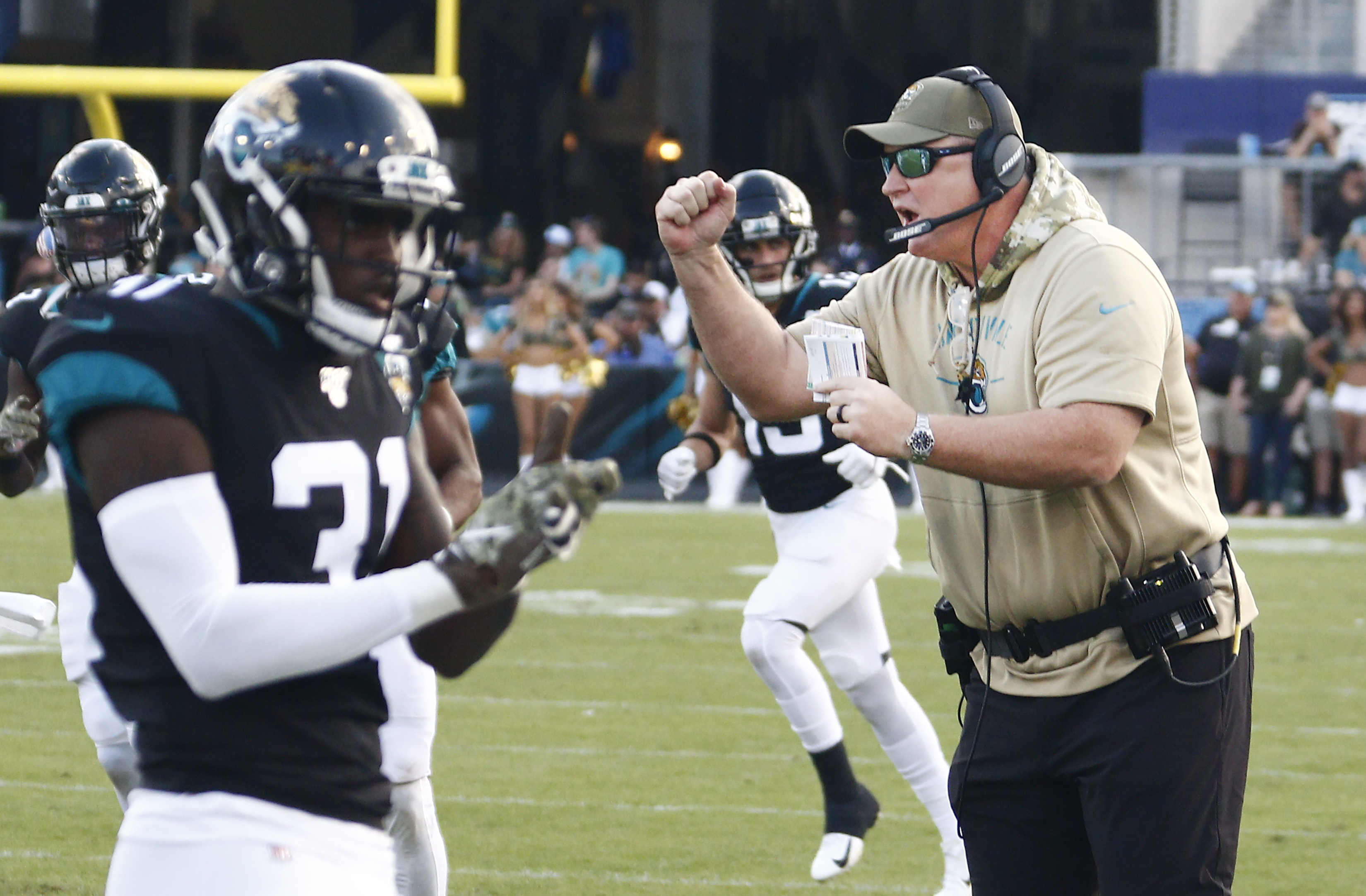 Report: Doug Marrone 'Likely' Gone as Jaguars Coach After Season
