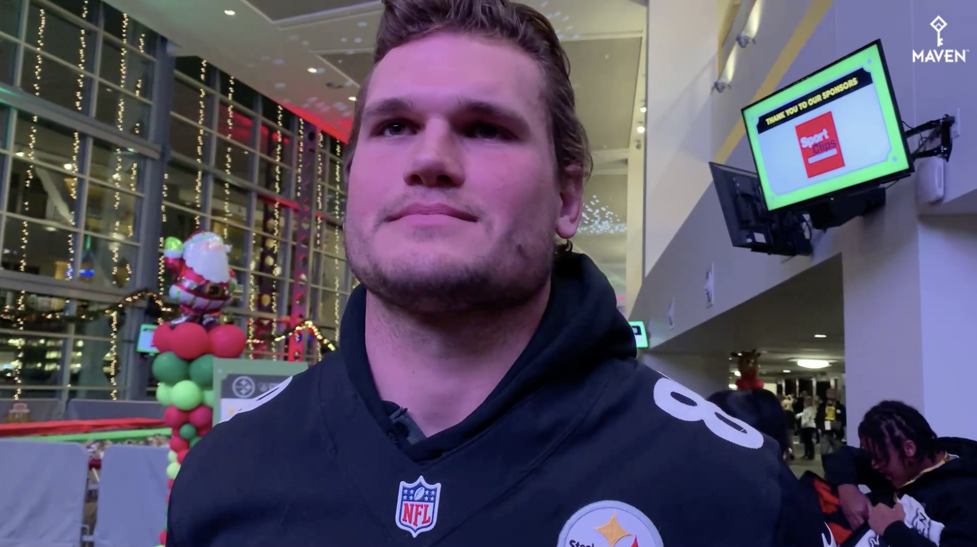Vance McDonald Holds Back Tears Talking About Giving Back to the Community