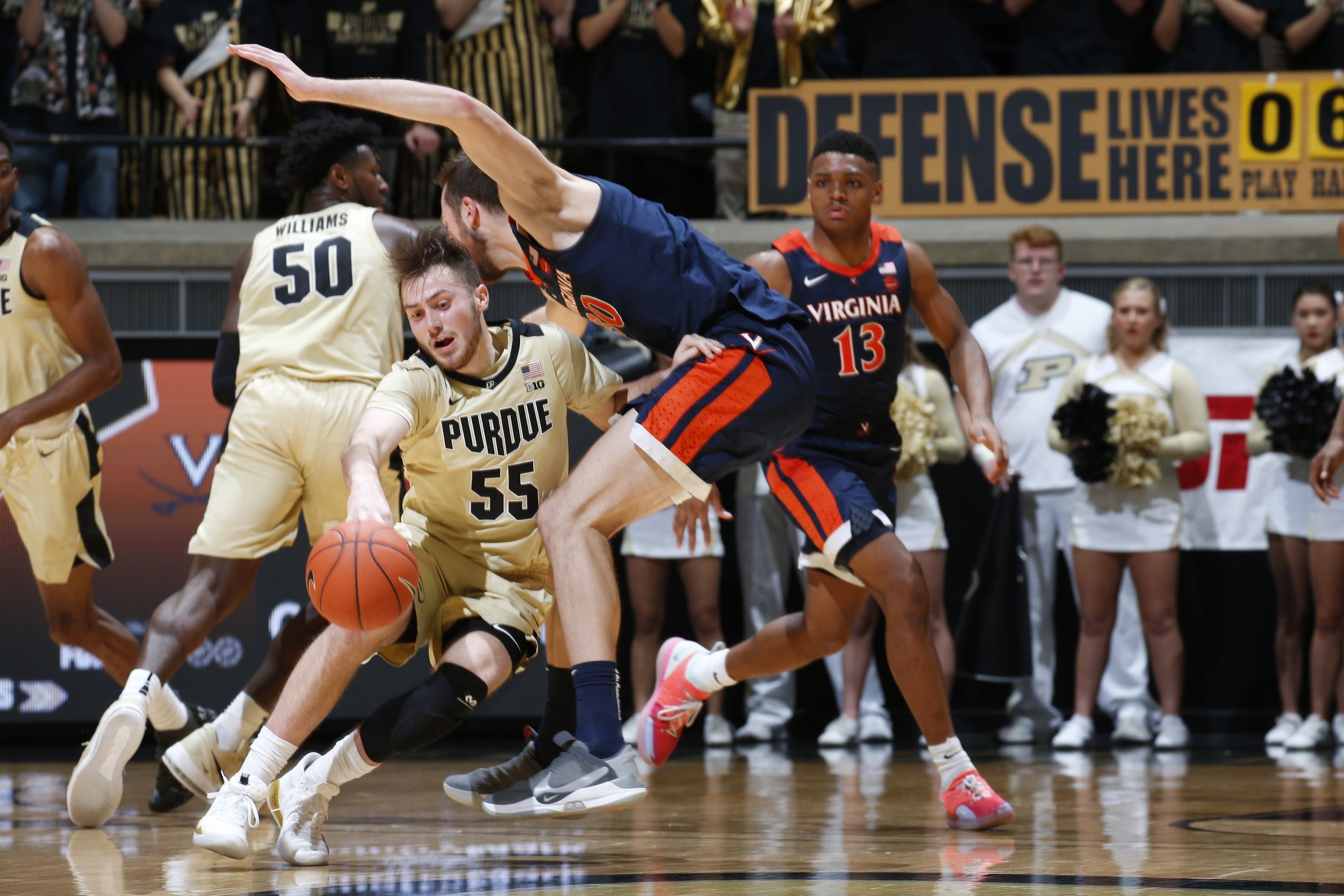 My Two Cents: Purdue's Stefanovic Puts His Foot Down in 1st Start
