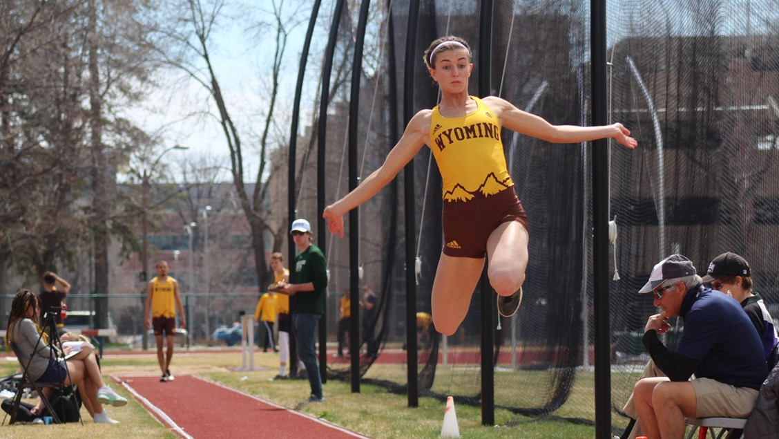 Wyoming Track & Field Claims 3 Titles On Opening Day of School of Mines Alumni Classic