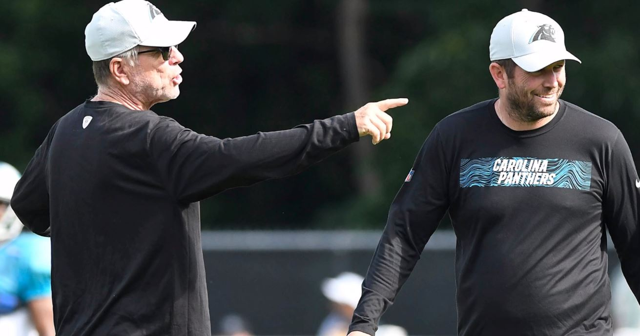 WATCH: Panthers changing offensive coordinators ahead of rematch with Falcons