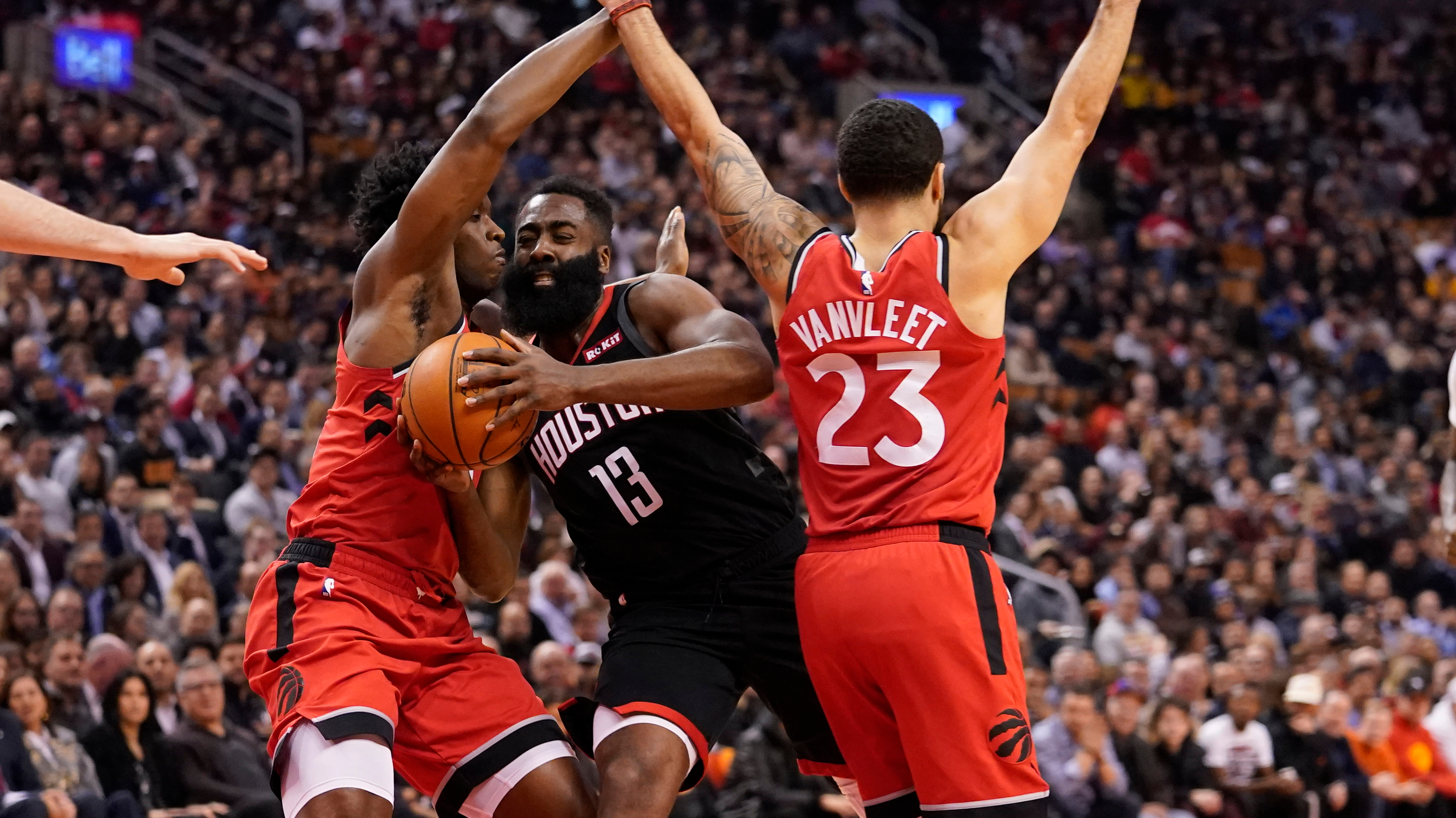 Rockets Bust Raptors' Trap, Salvage Road Trip With Win