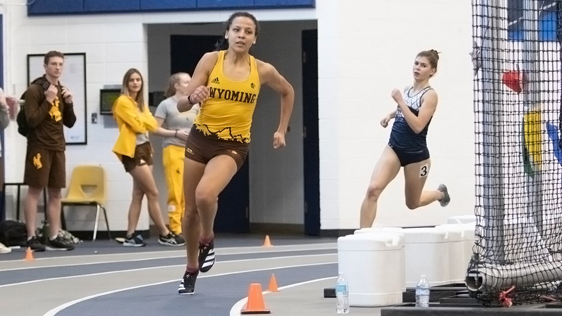 Cooper, Howell Claim Final Day Titles, Pacing Wyoming T&F at Mines Alumni Classic