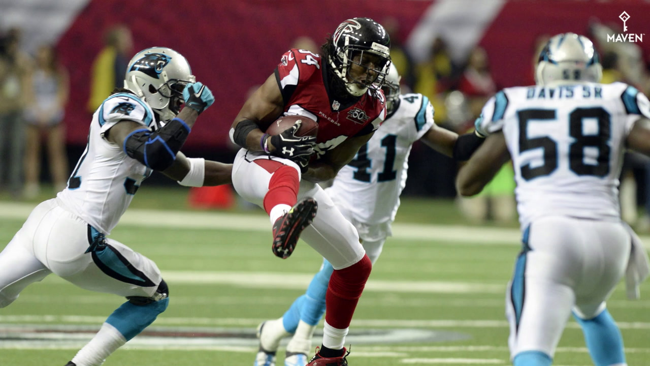 Watch: Roddy White being honored as an Atlanta Falcons Legend on Sunday