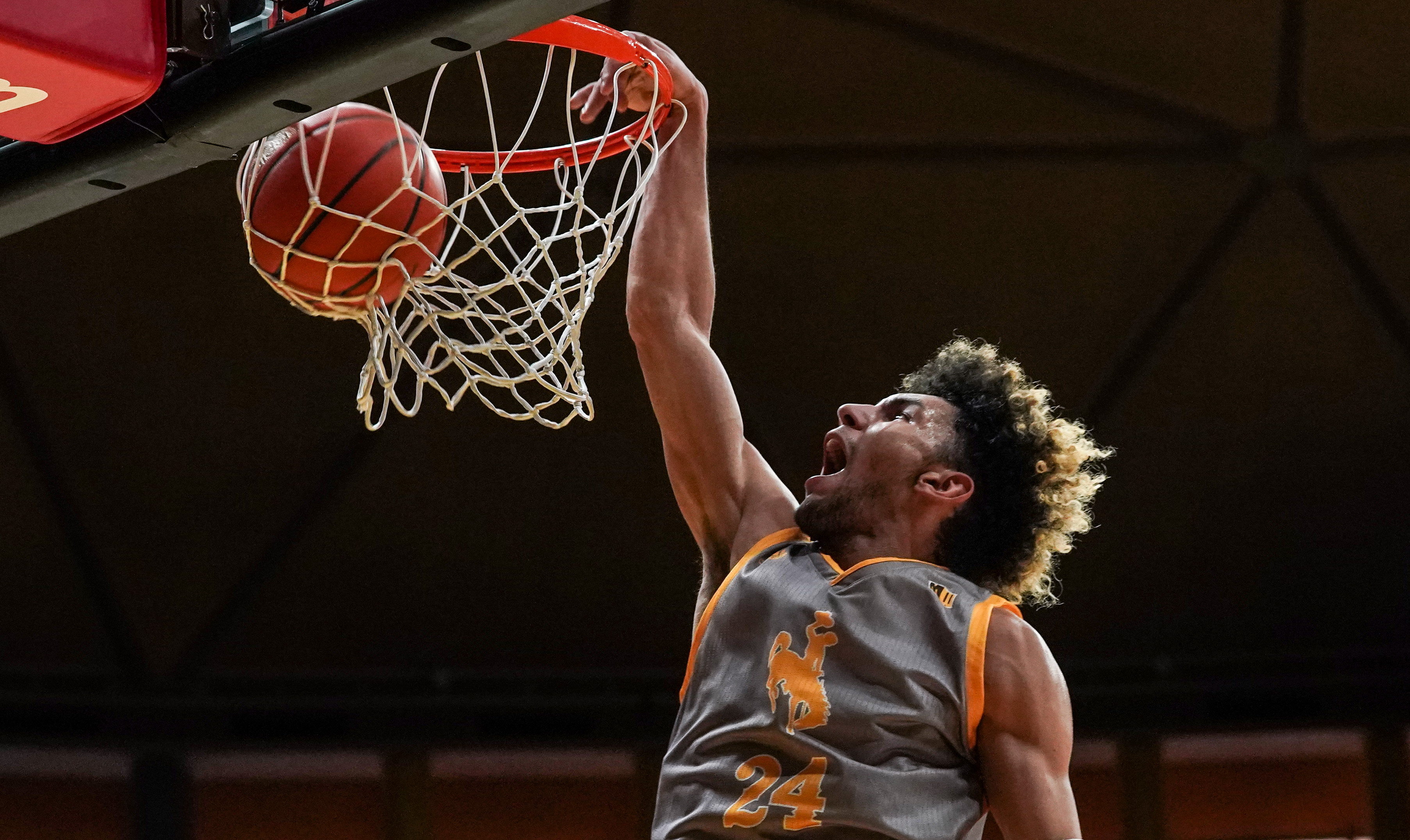 Recognition of Dembo Bright Spot on Another Gloomy Day for Wyoming Men's Basketball