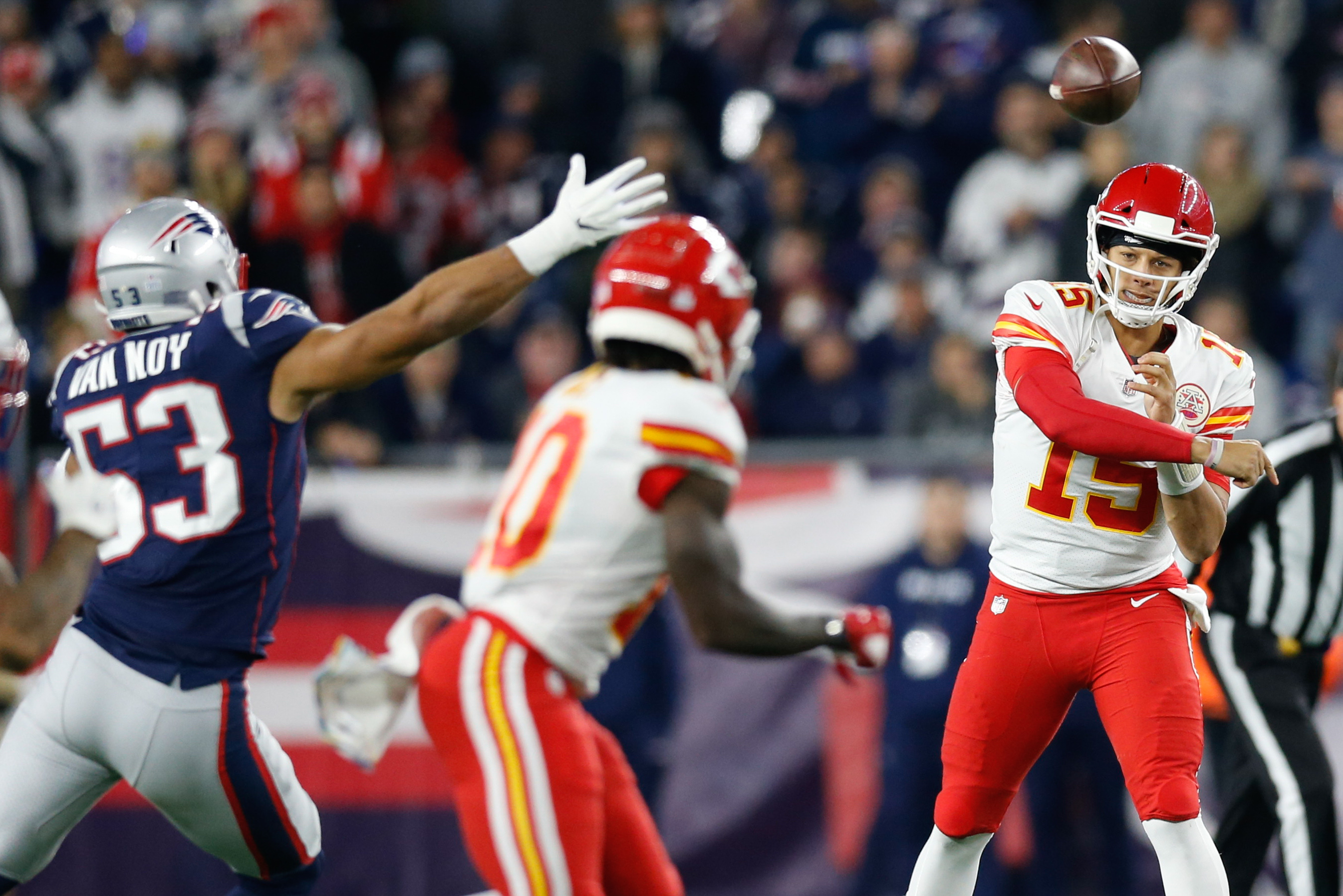 Chiefs-Patriots Keys & Matchups:  Aggression, Confidence Essential for Kansas City