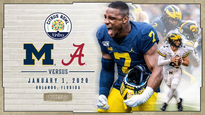 Michigan vs. Alabama Citrus Bowl Preview