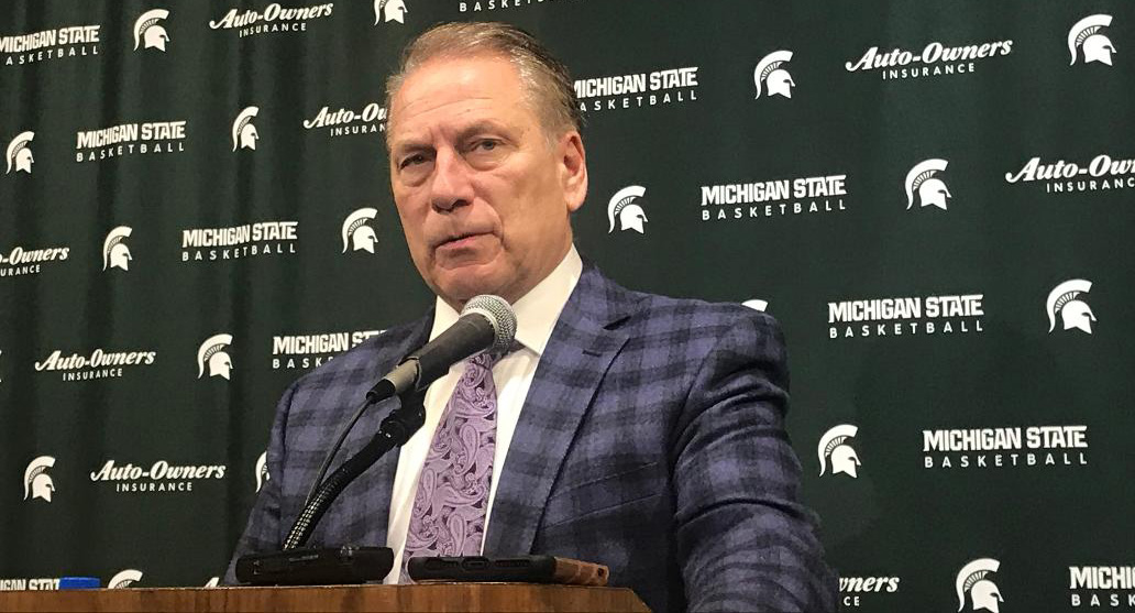 Tom Izzo Talks After The Spartans Beat Rutgers 77-65