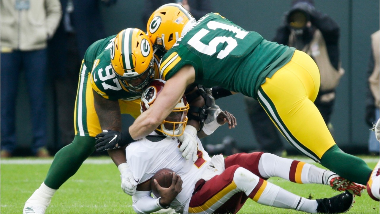Packers Make Bad Redskins Offense Look Bad