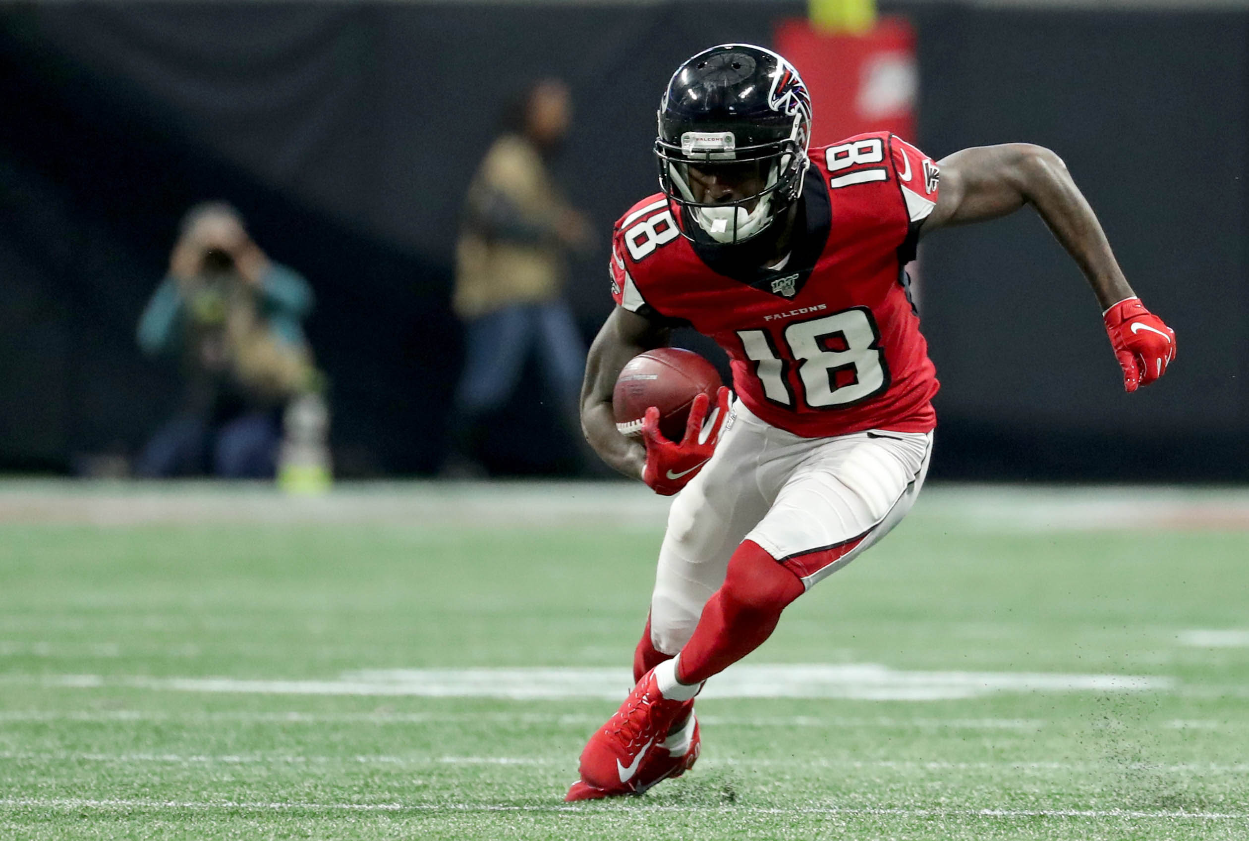 BREAKING: Falcons WR Calvin Ridley to miss the rest of the season with abdominal injury