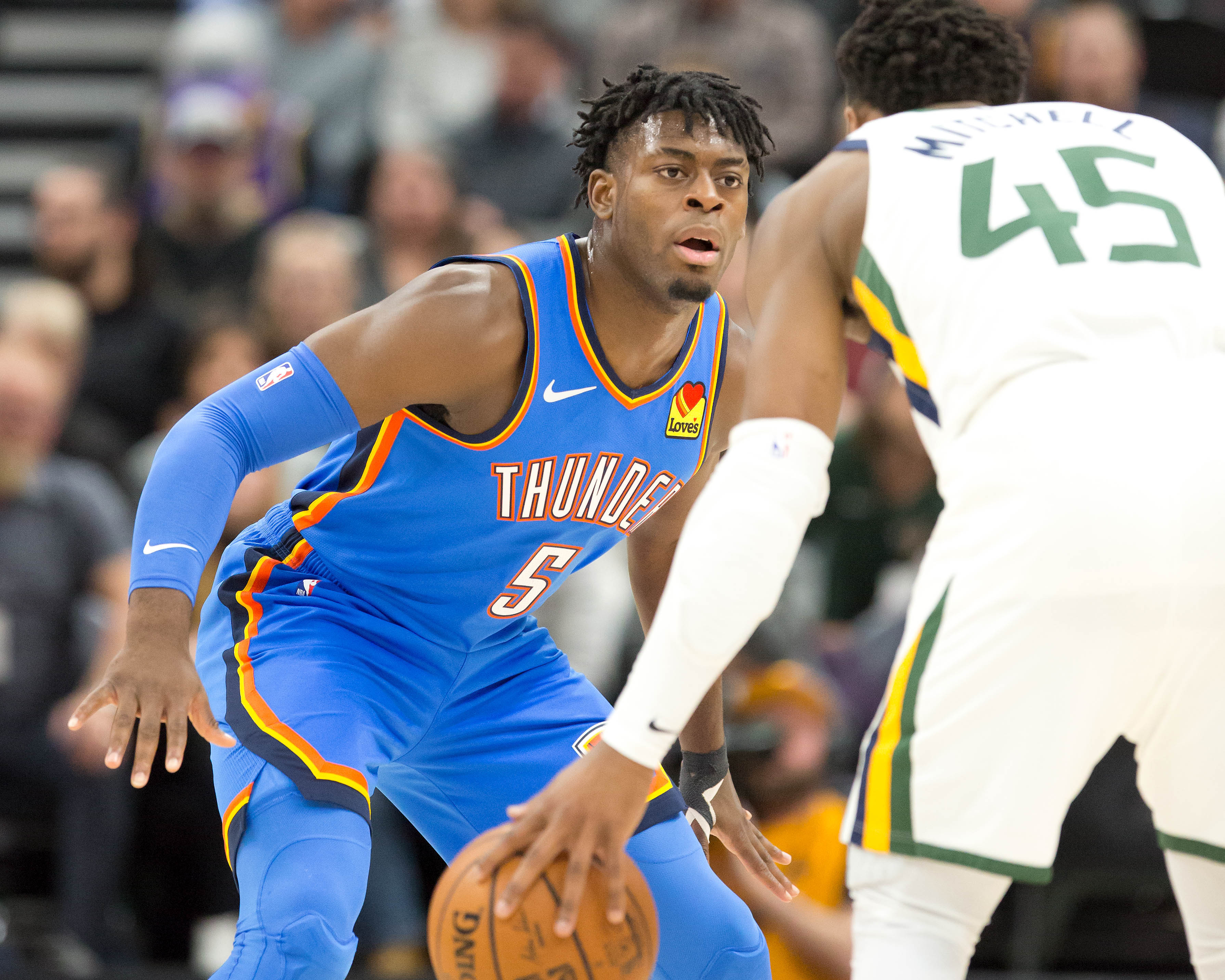 Thunder Dismantle Jazz 104-90.