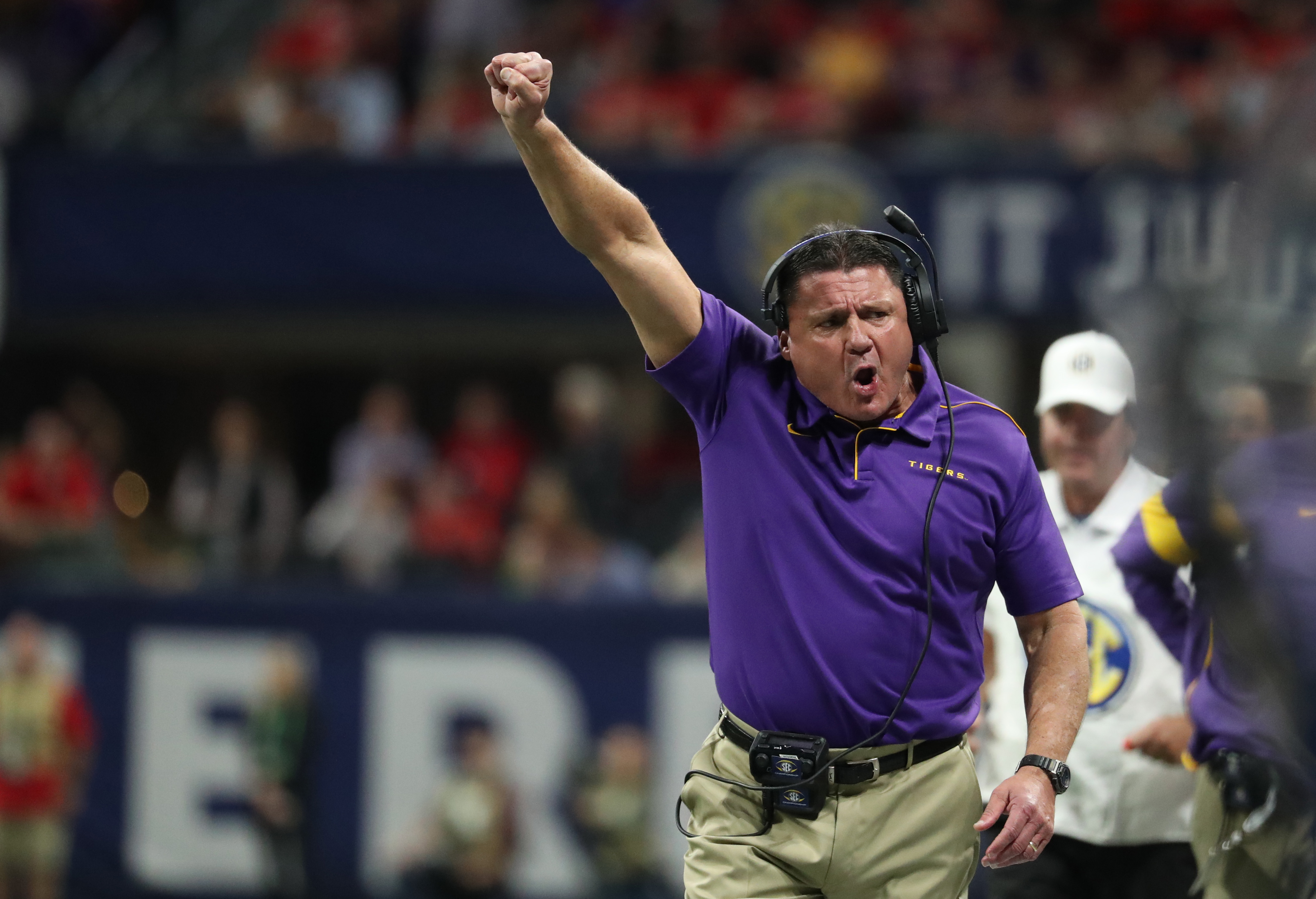LSU Coach Ed Orgeron One of Six Finalists for the Munger Award