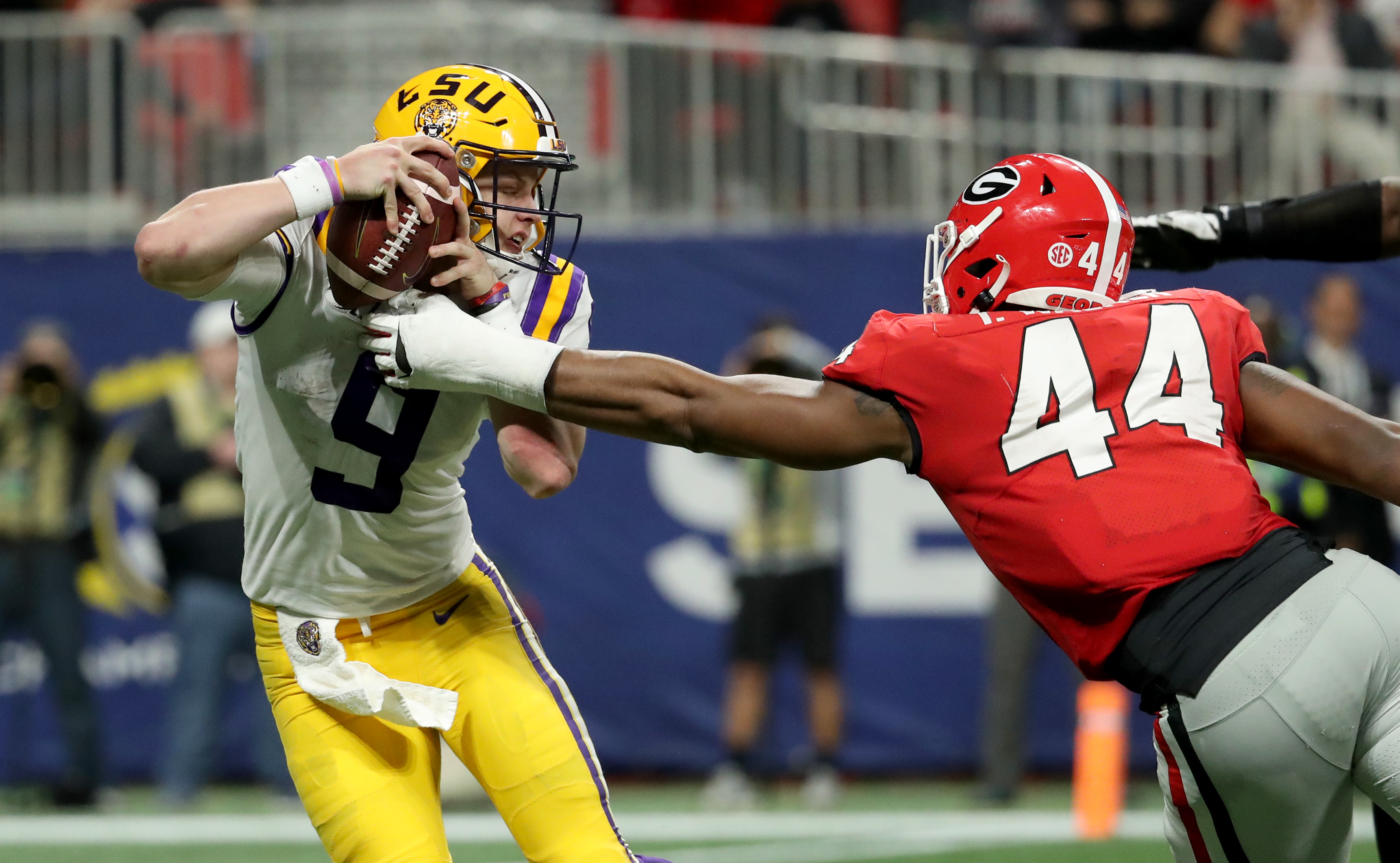 LSU Quarterback Joe Burrow Named AP Player of the Year