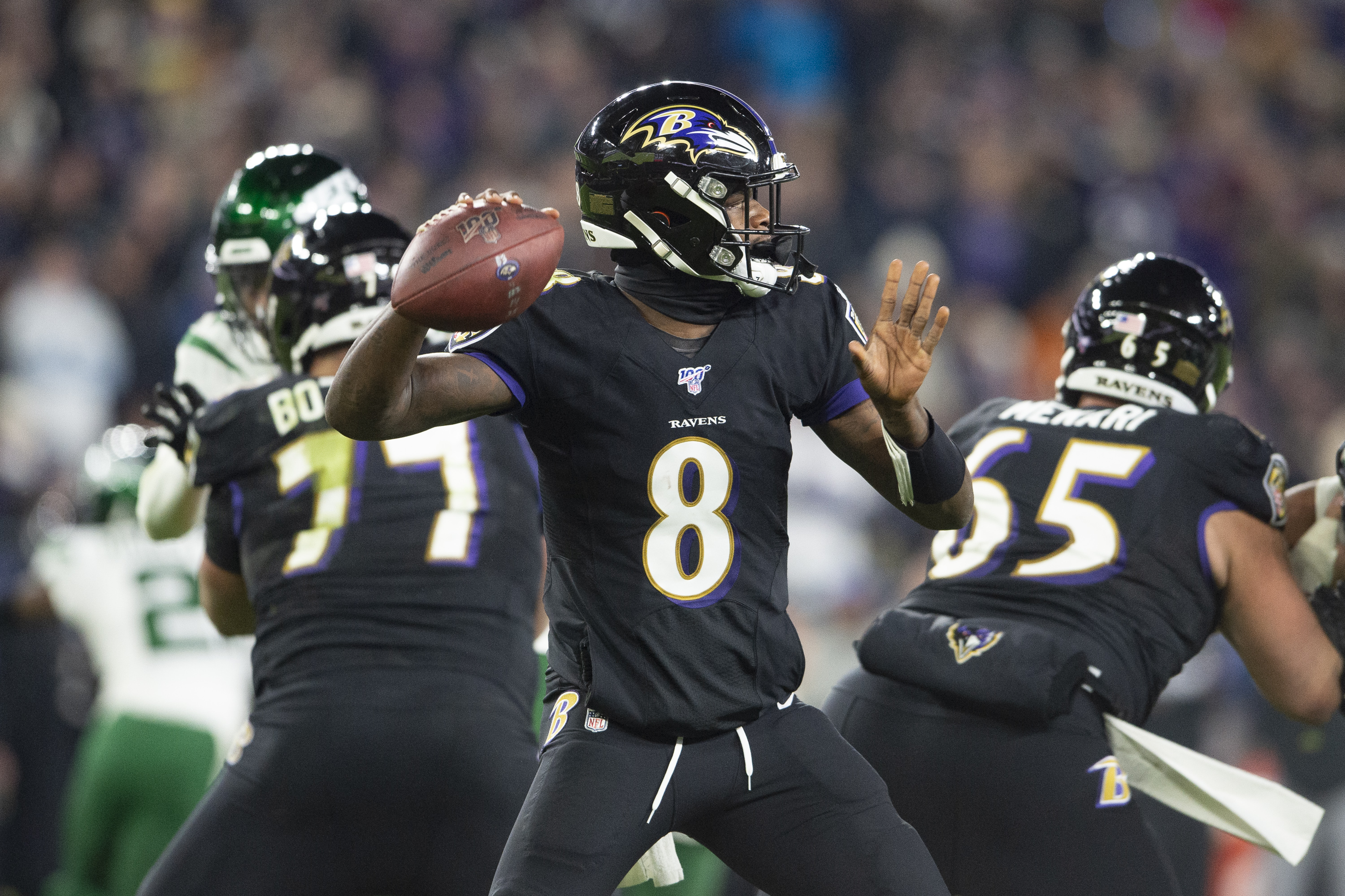 Jackson's Record-Breaking Night Paces Ravens to AFC North Title