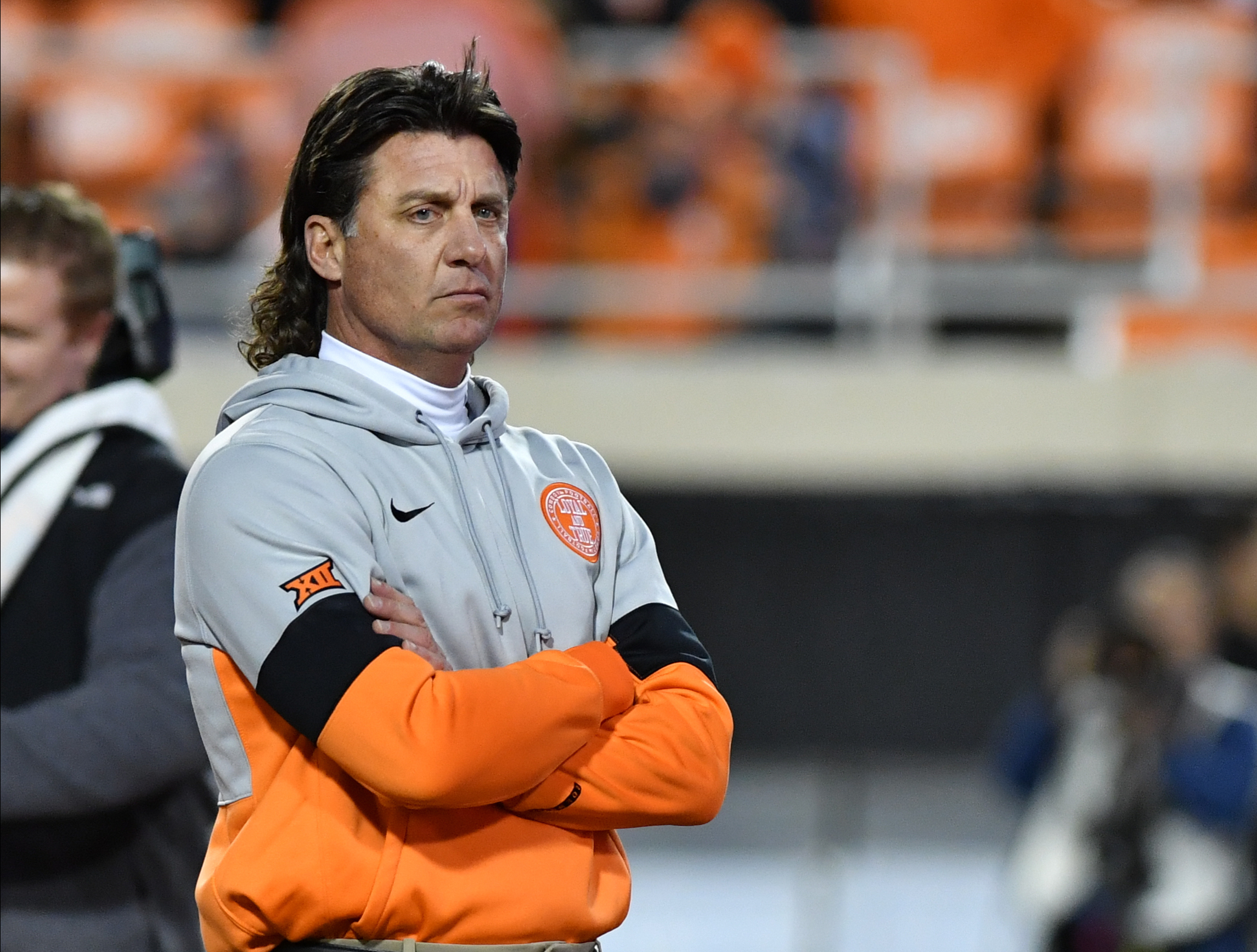 Espn S Mcgee Makes Gundy Mullet A Red Carpet Topic
