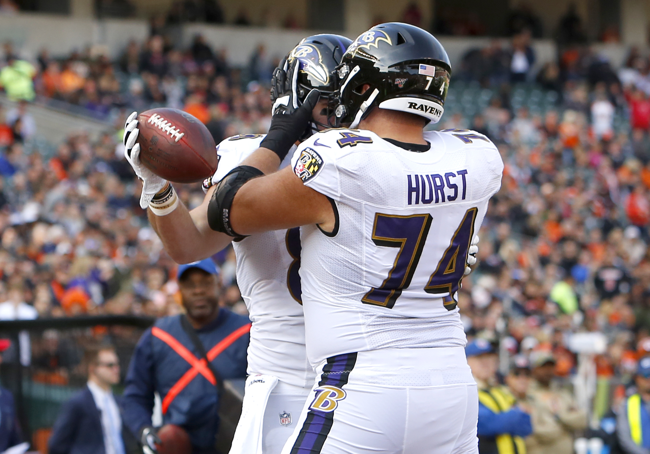Video: James Hurst Does Solid Job in Place of Injured Ronnie Stanley