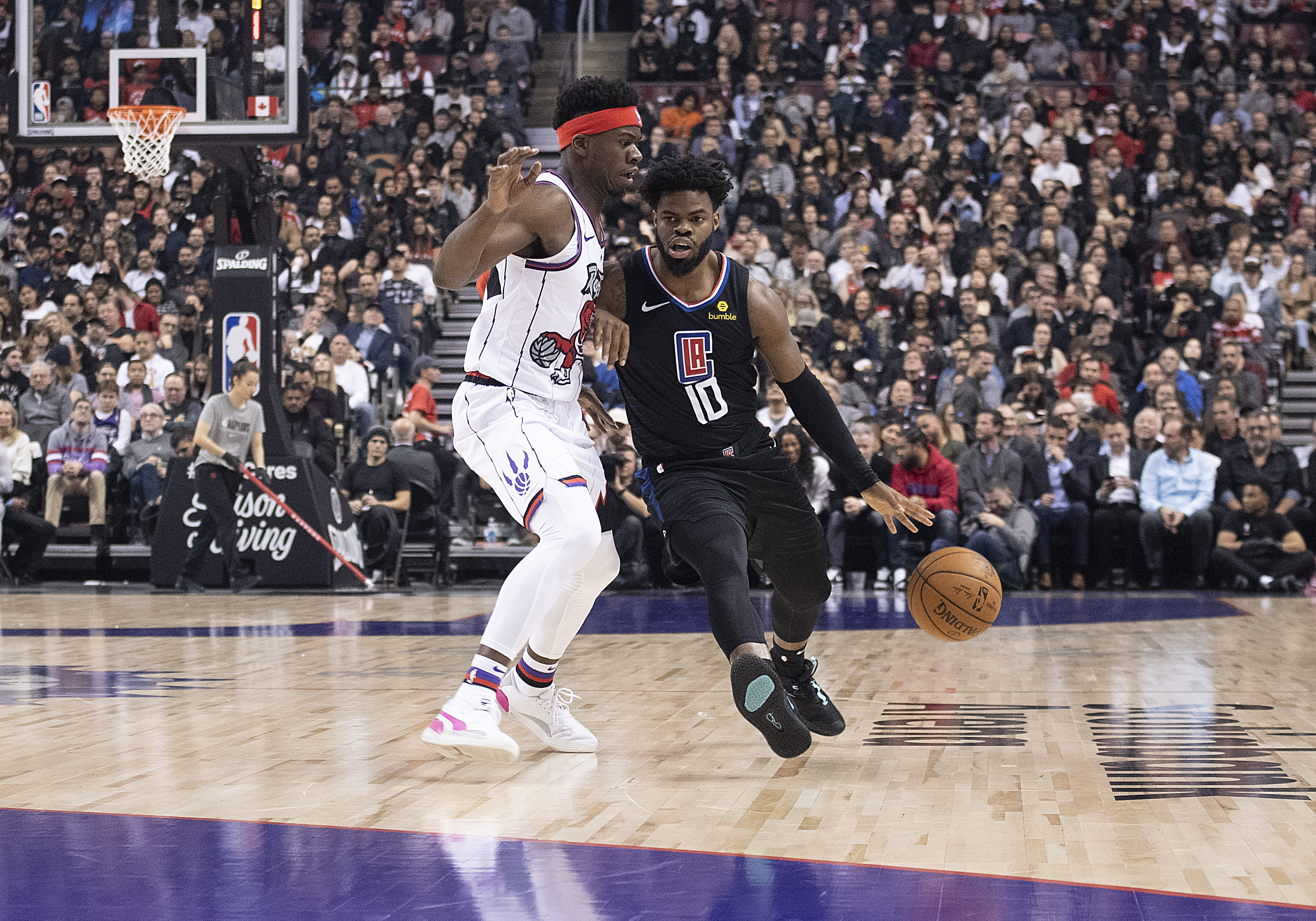 Shorthanded Clippers soldier on in Minnesota