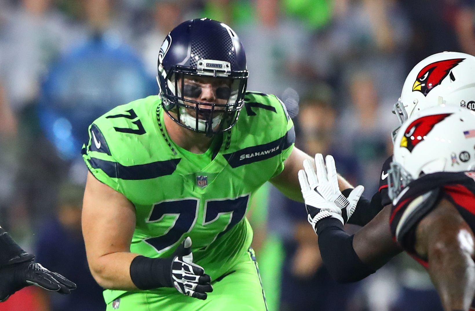 Seahawks Activate OL Ethan Pocic, Place RB Rashaad Penny on Injured Reserve