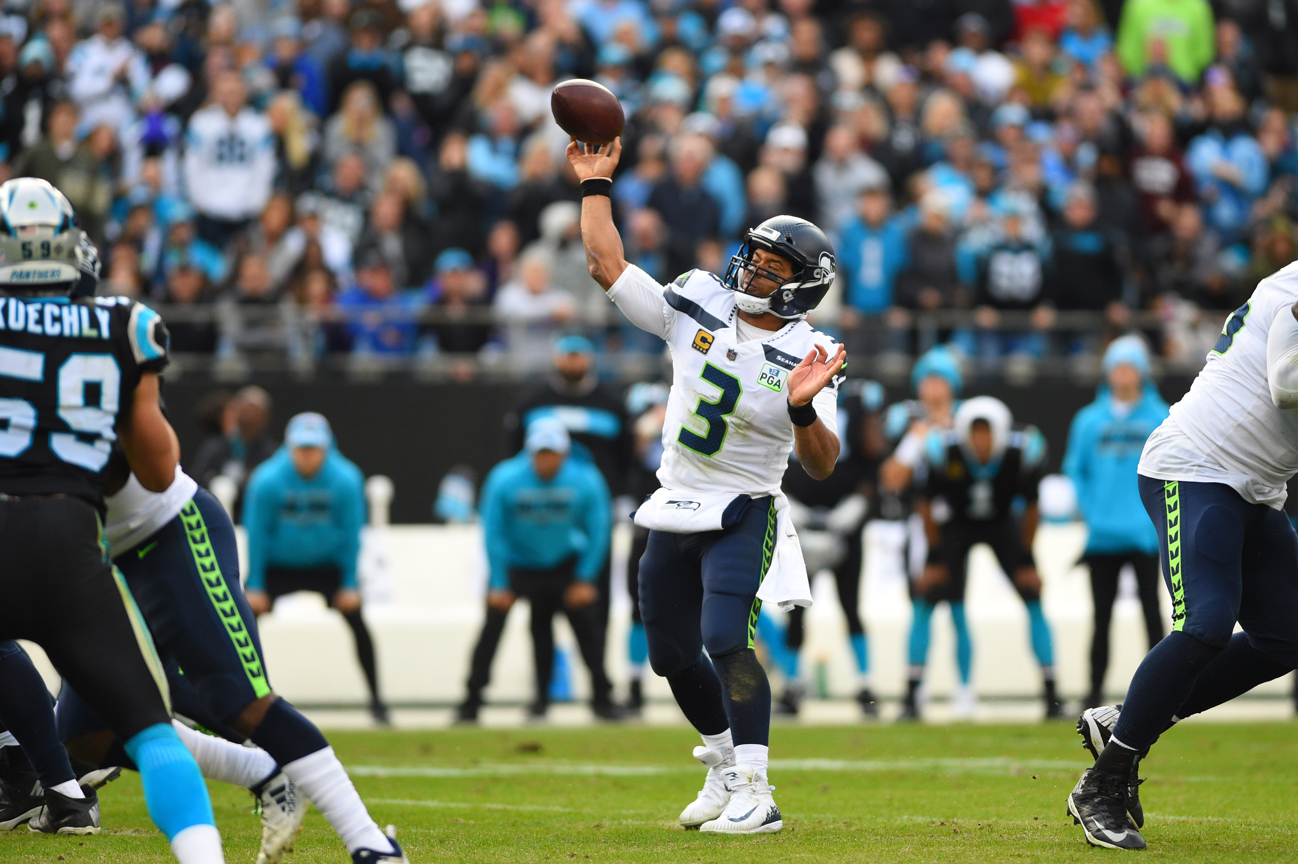 Latest Matchup Represents End of an Era for Seahawks, Panthers