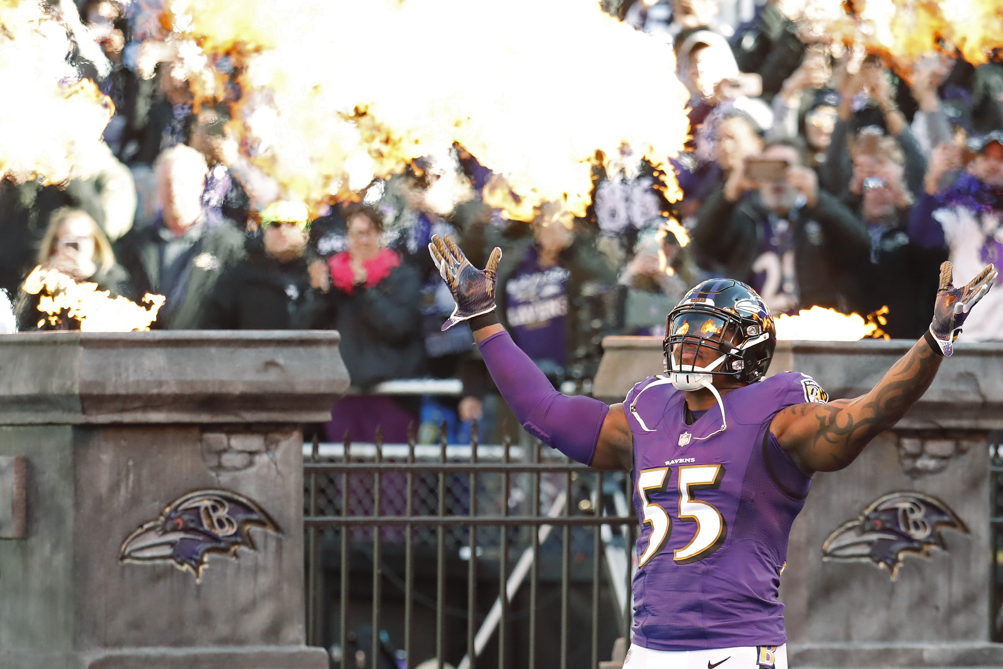 Ravens Homecoming for Suggs?
