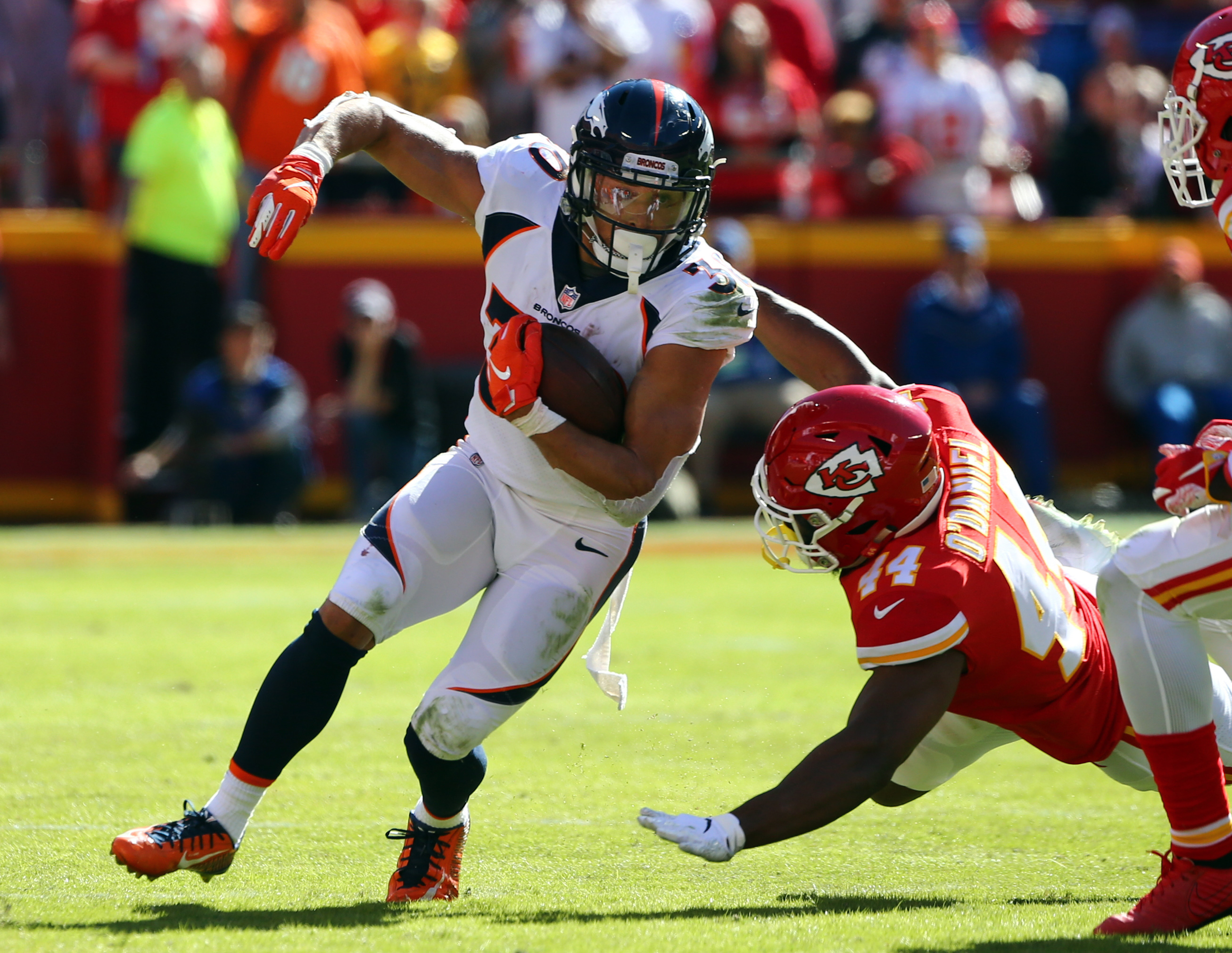 Lindsay Knows that Beating the Chiefs is Only Way the Broncos Regain AFC West Footing