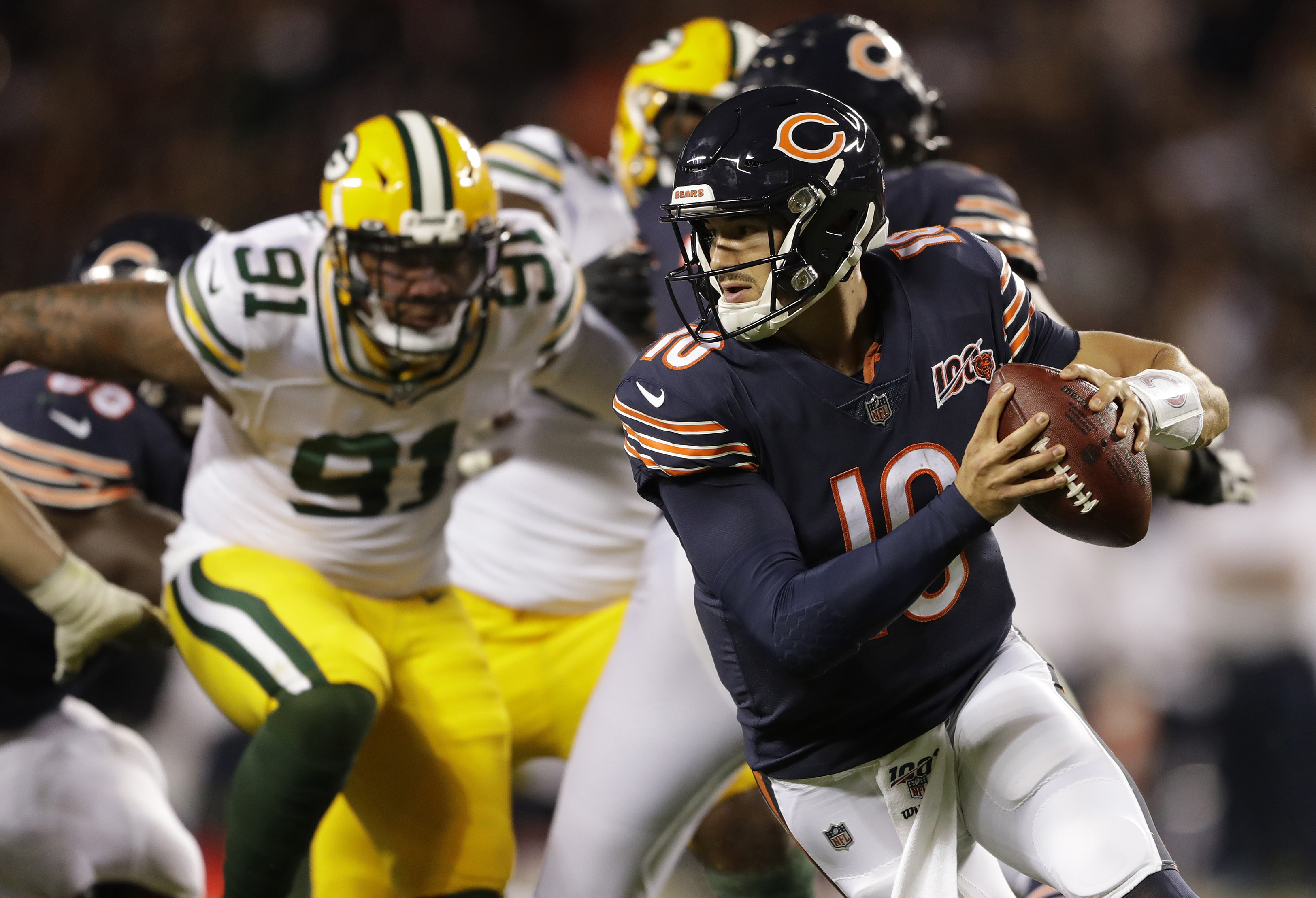 Entire Bears Season Hinges Now on Offense, Trubisky