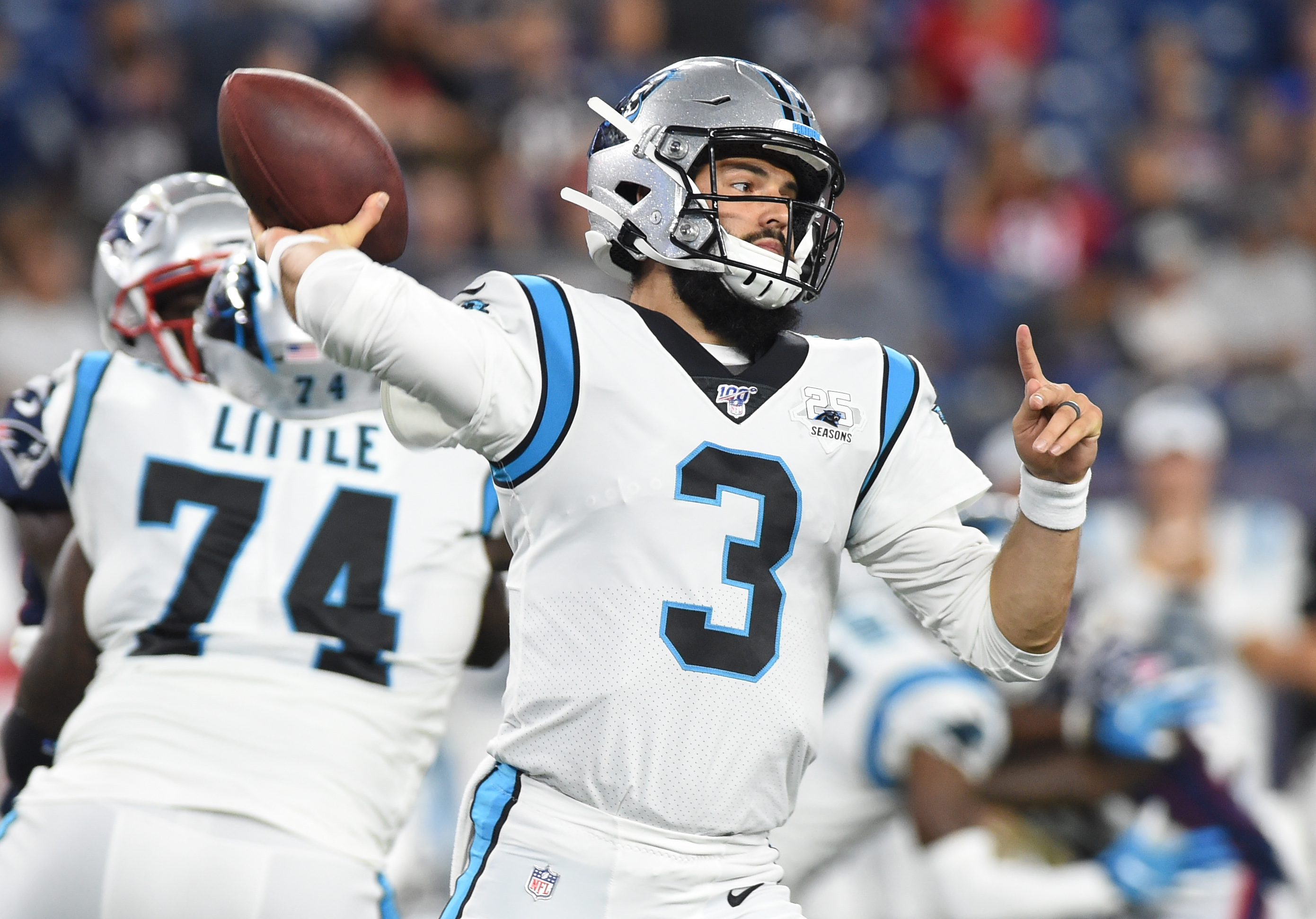 Panthers Prep Grier for Pro Debut