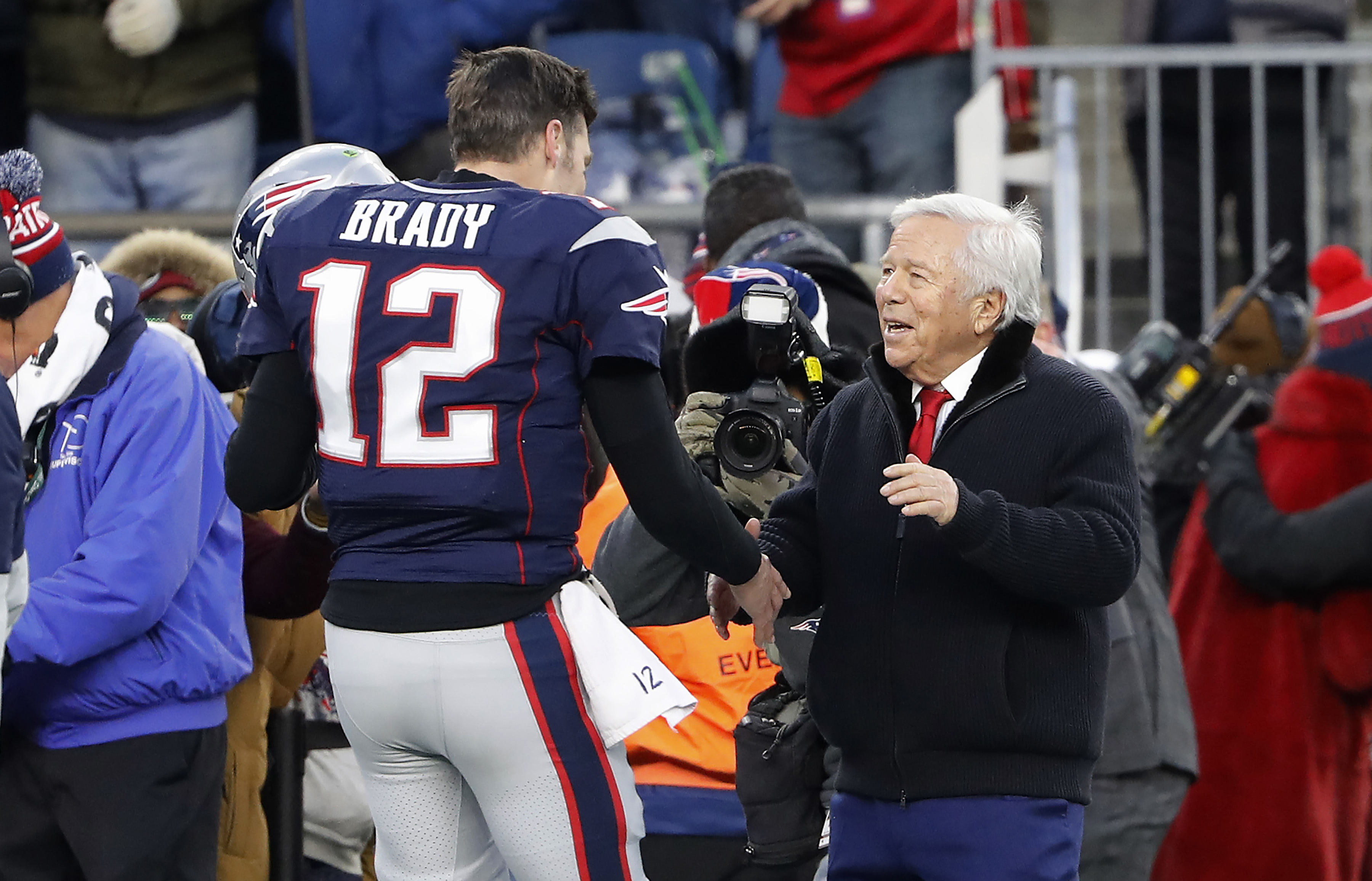 Yahoo! Finance: Patriots' Robert Kraft is 7th Richest NFL Owner